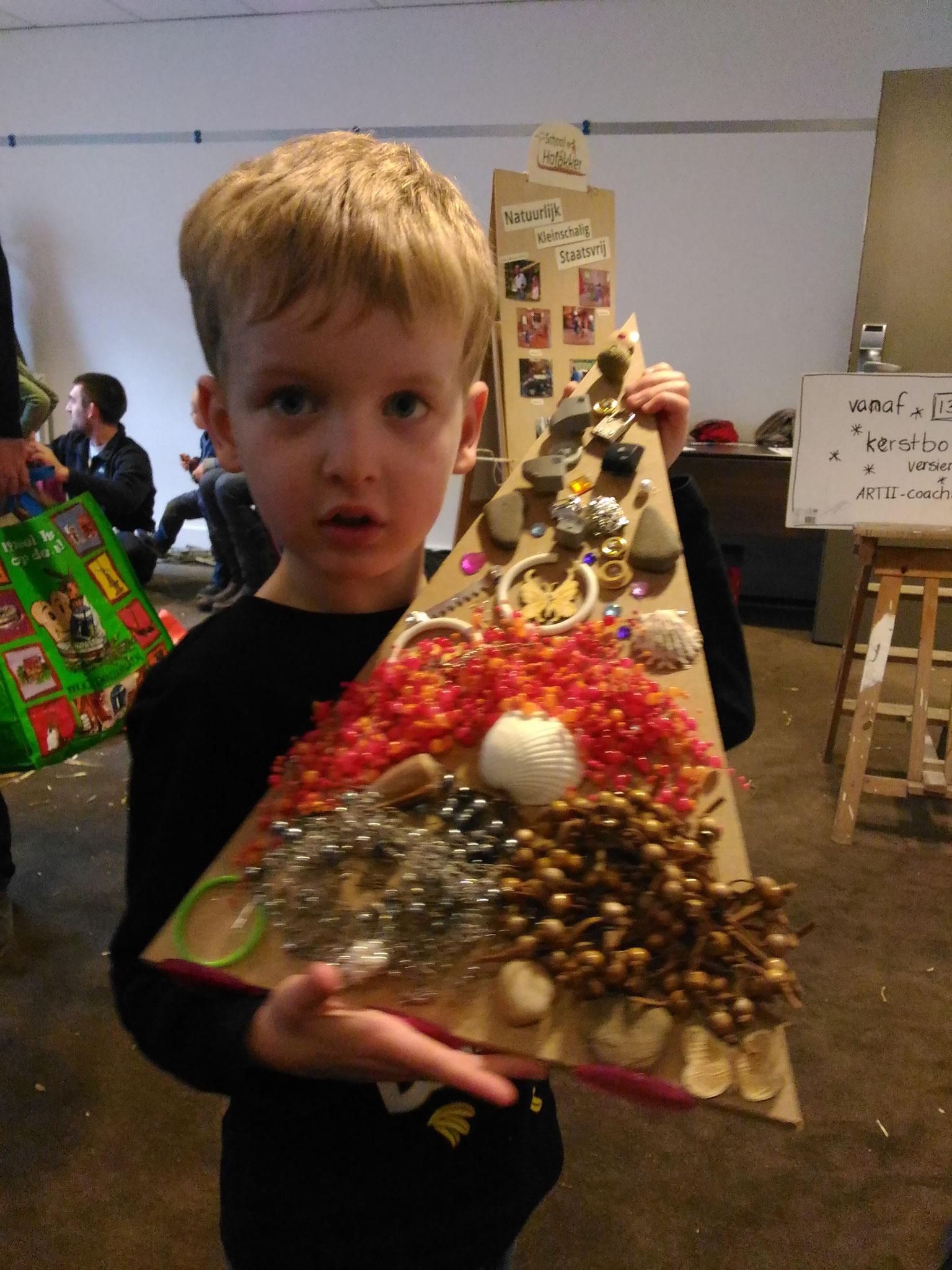 ARTii-kids kerstbomen versieren ONB wintereditie Doorwerth