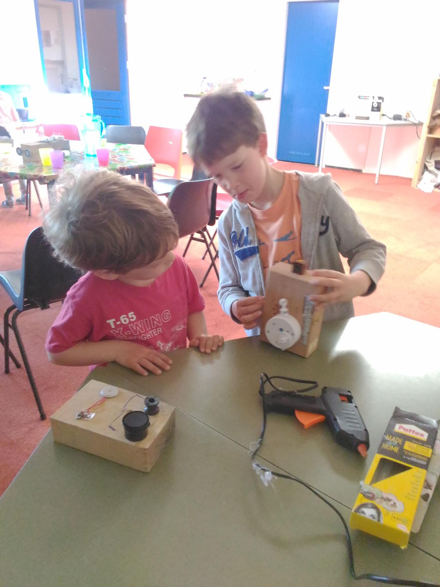 ARTii-kids workshop robot maken Driel