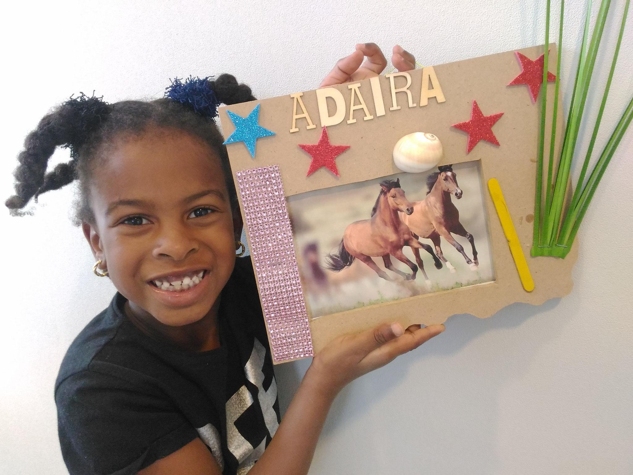 ARTii-kids fotolijst maken en versieren