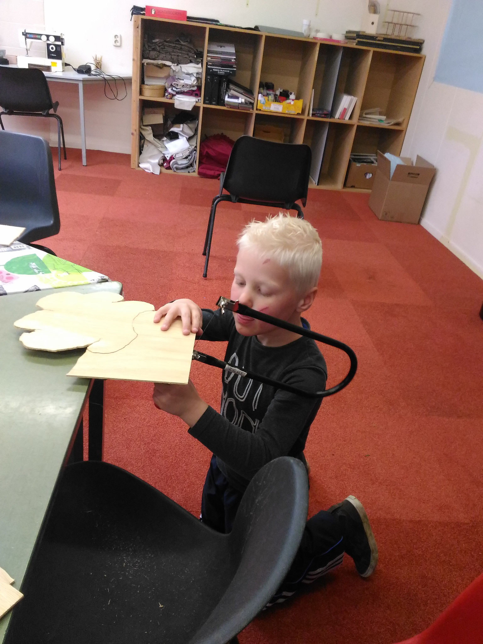 ARTii-kids workshop figuurzagen Driel
