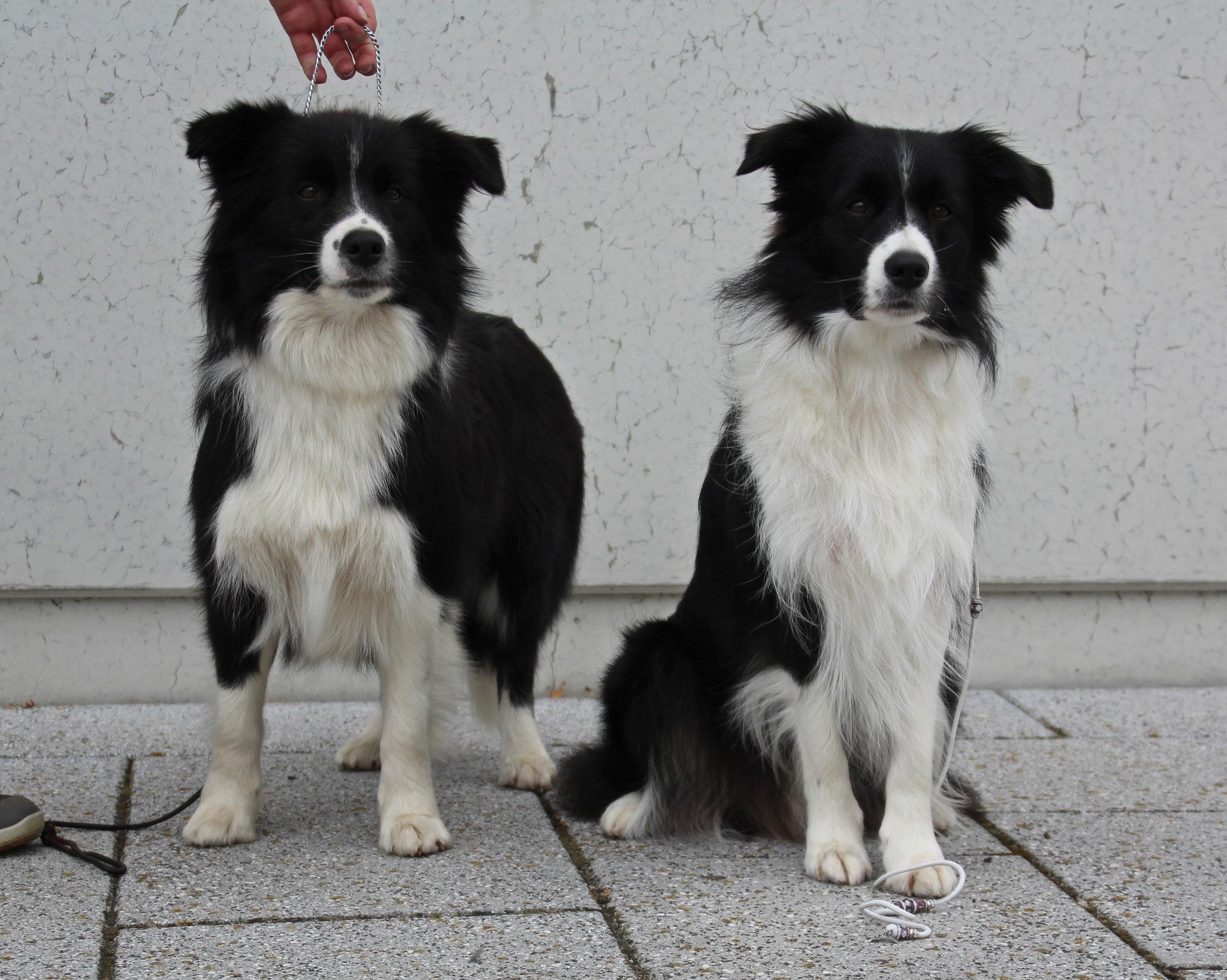 Lucys Schwester und sie selbst
