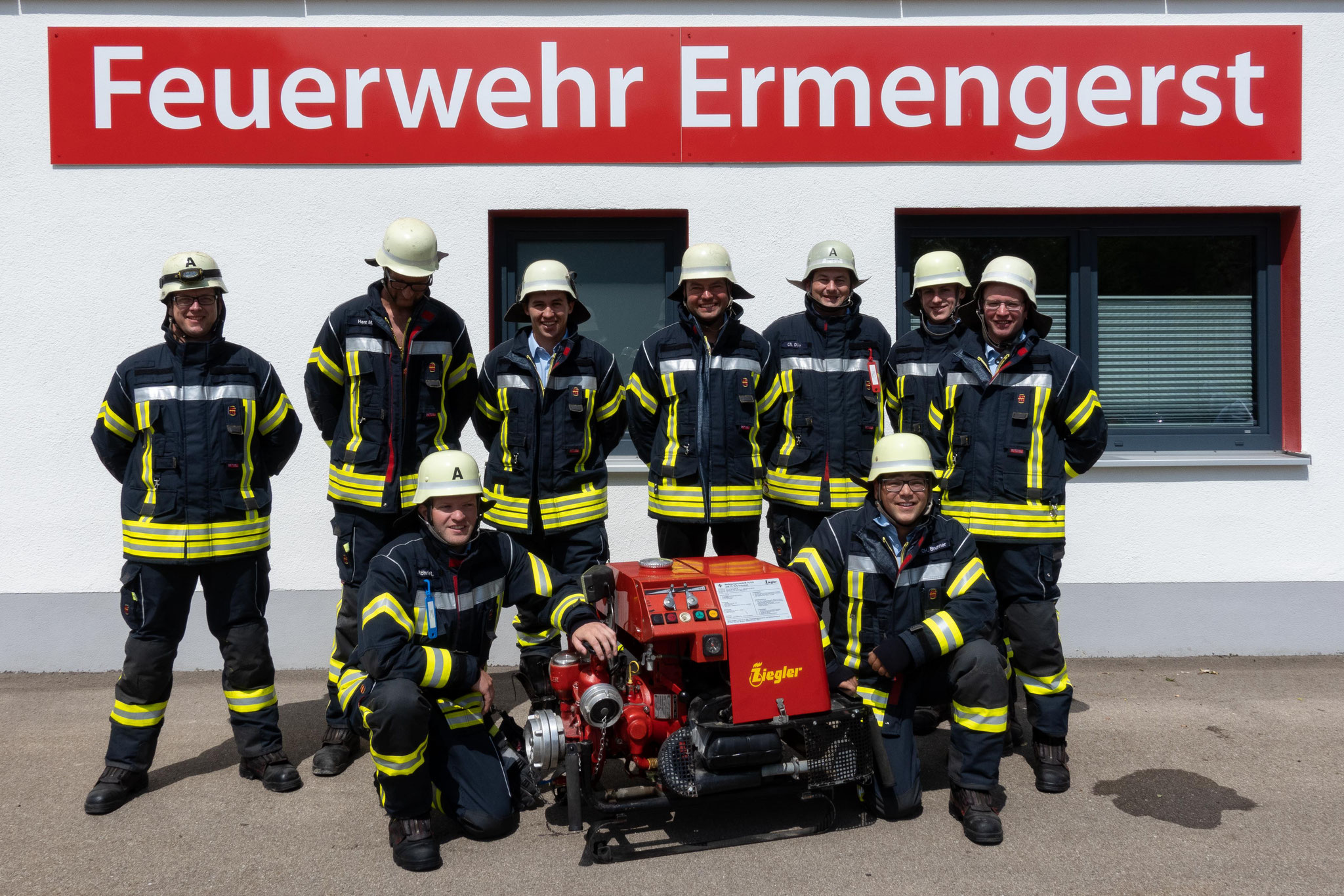 Freiwillige Feuerwehr Ermengerst - Maschinisten und Gerätewarte