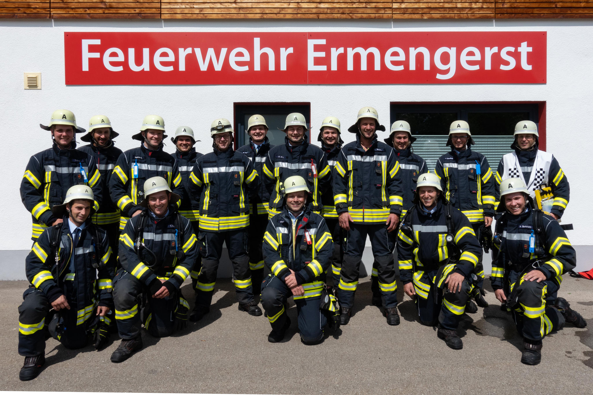 Freiwillige Feuerwehr Ermengerst - Atemschutzgeräteträge