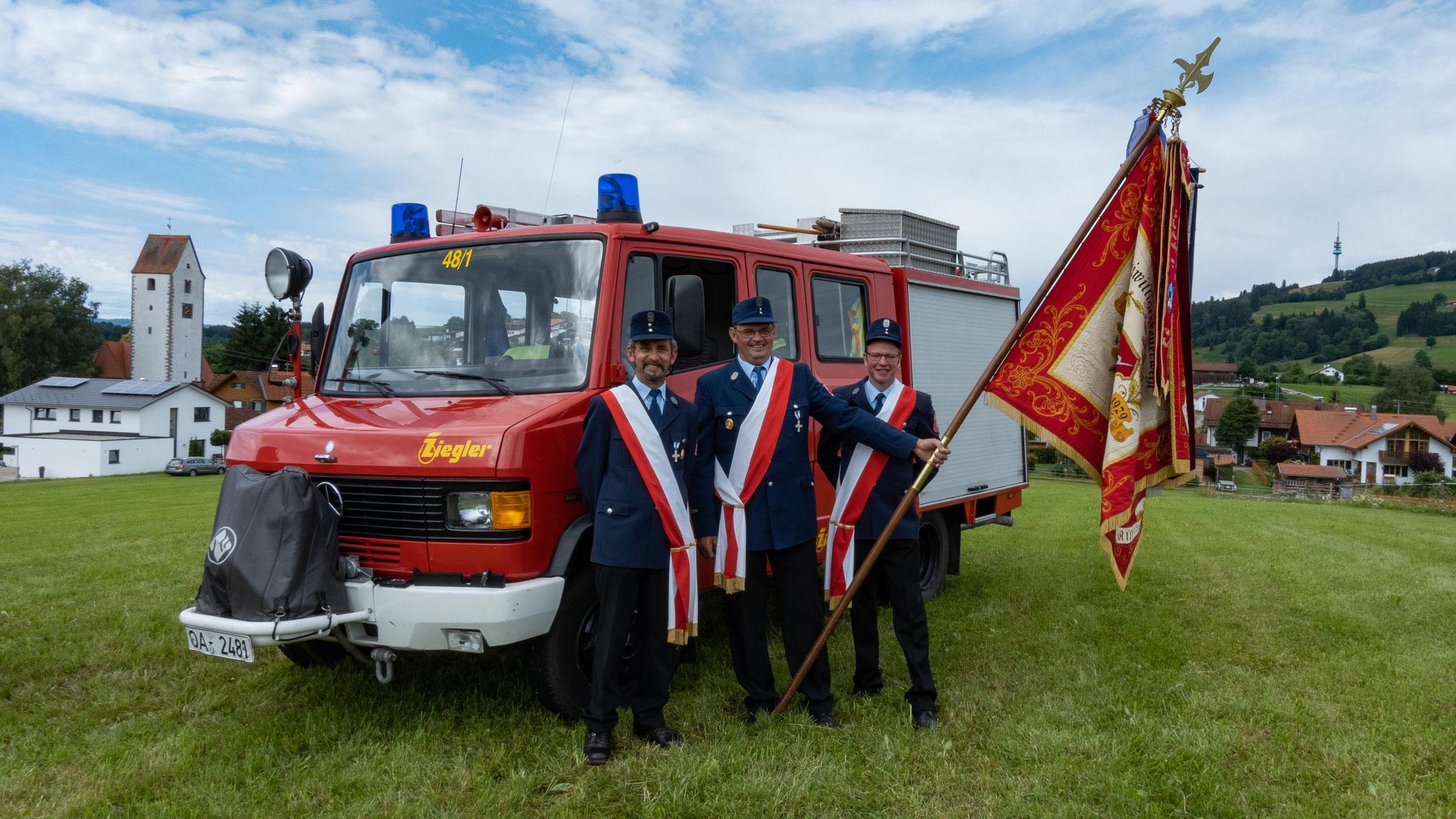Freiwillige Feuerwehr Ermengerst - Fahnensektion