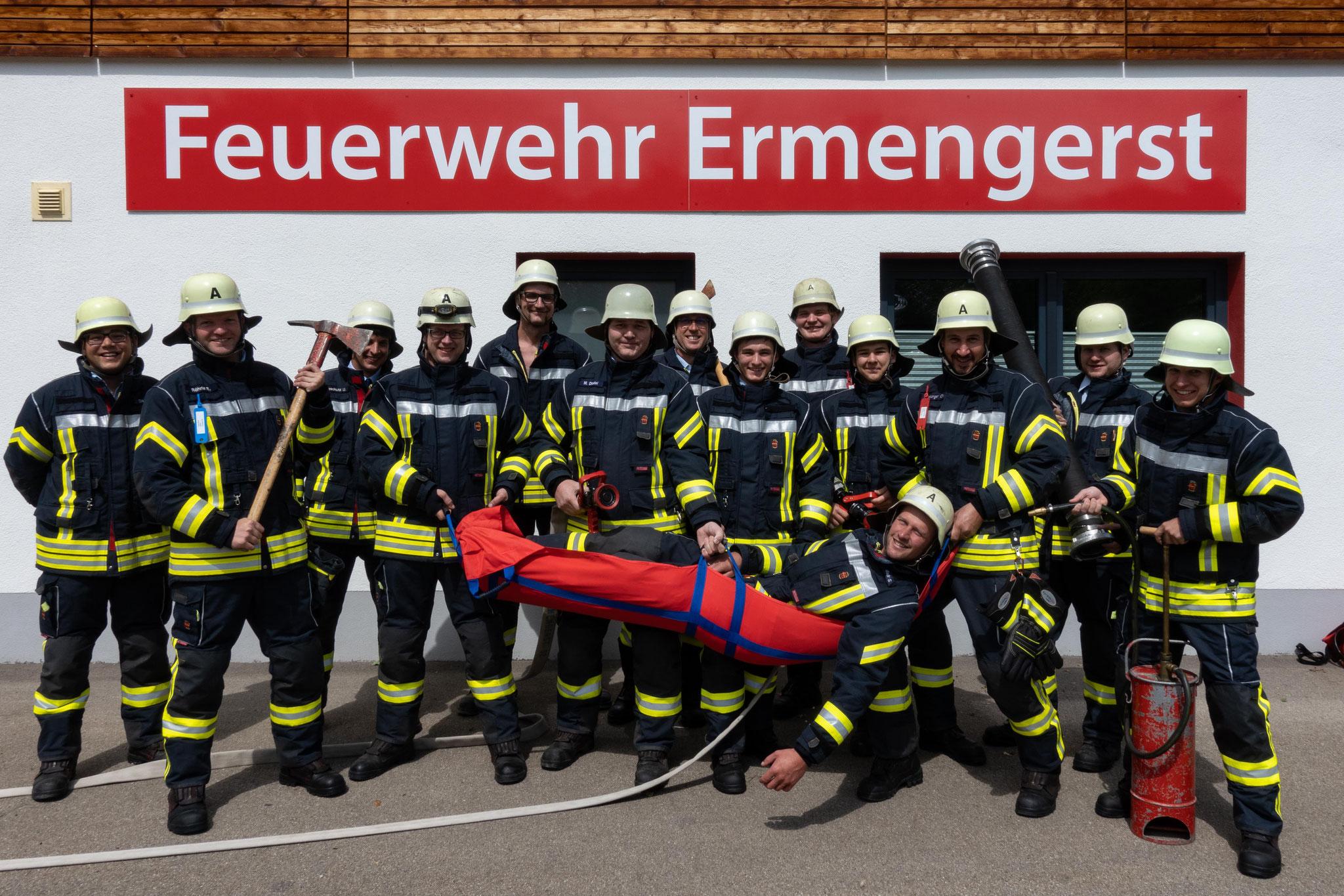 Freiwillige Feuerwehr Ermengerst - Gruppe 2