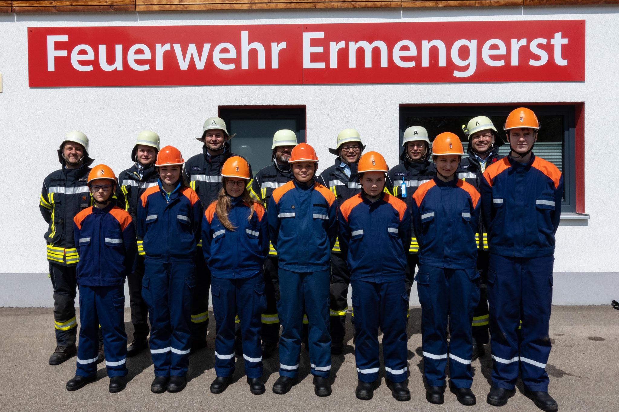 Freiwillige Feuerwehr Ermengerst -  Jugendgruppe