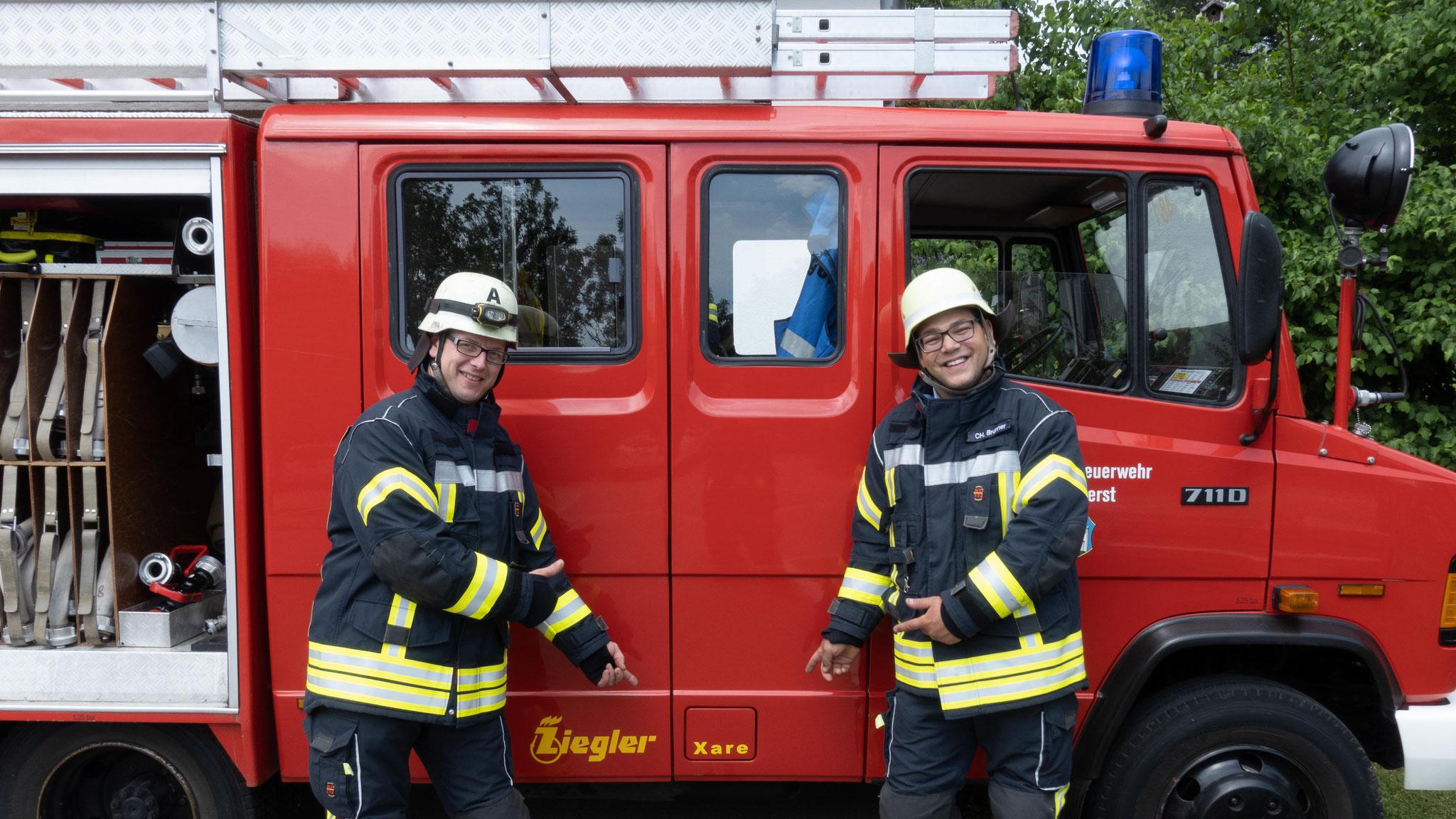 Freiwillige Feuerwehr Ermengerst - Gerätewarte