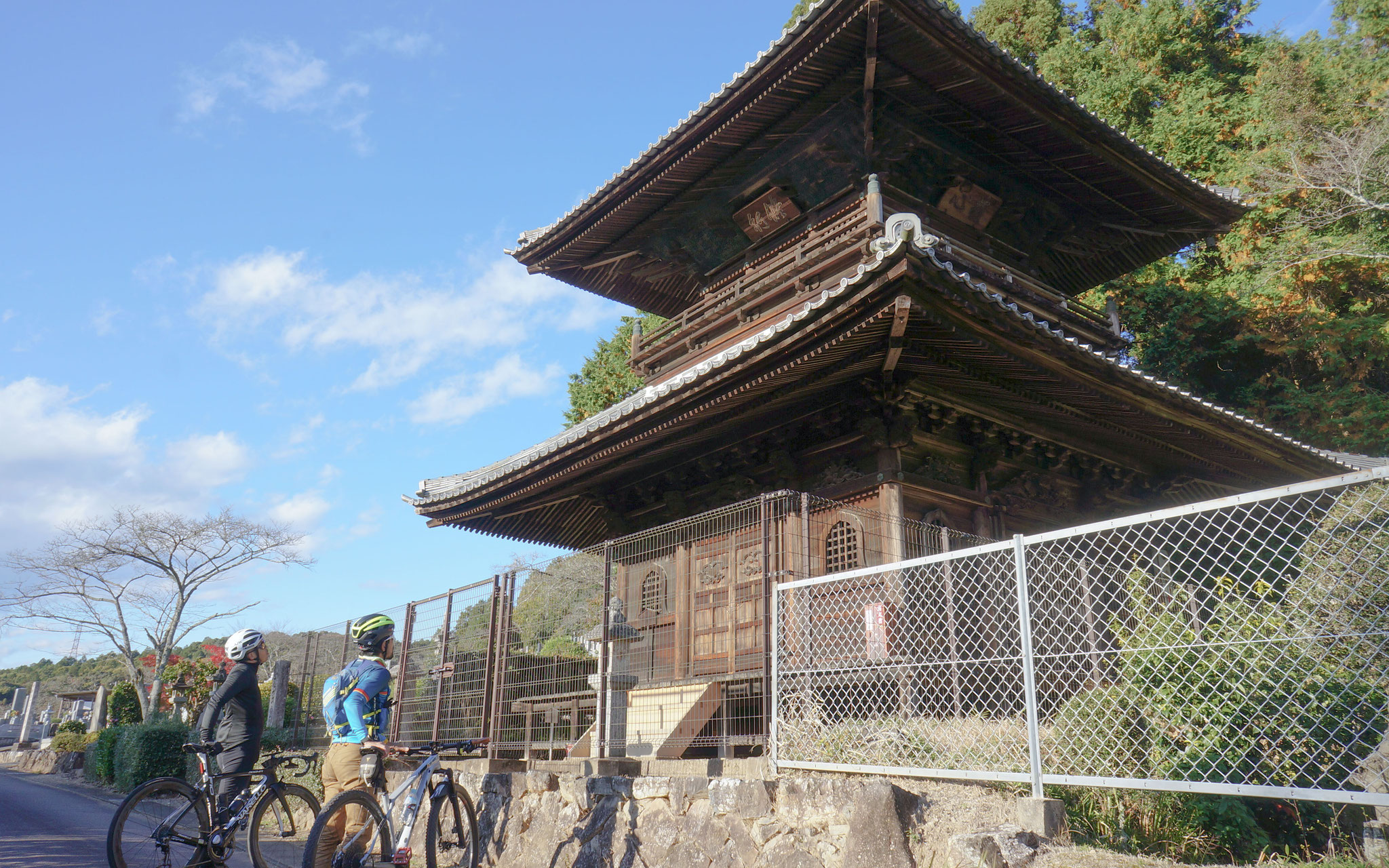 愚渓寺二重塔