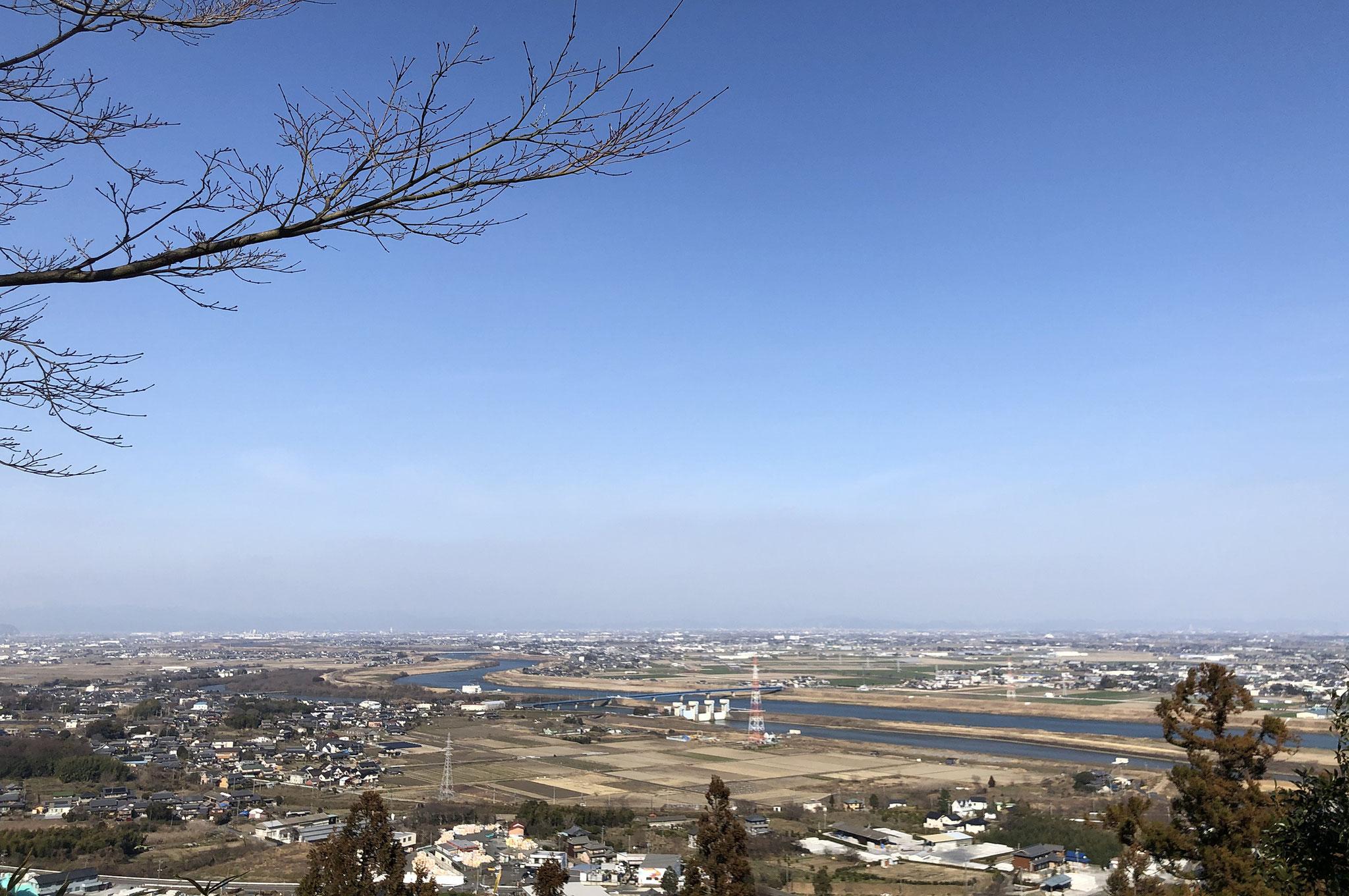 行基寺からの大パノラマ