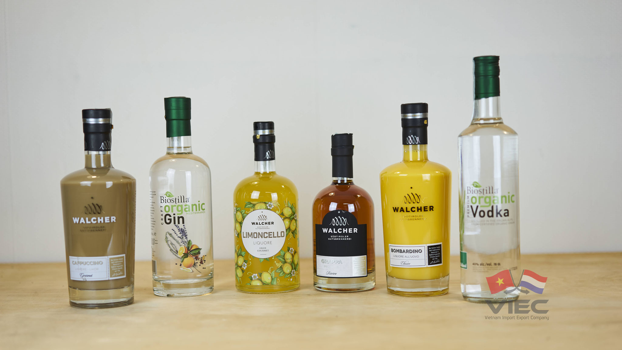 Italian Spirits from Walcher