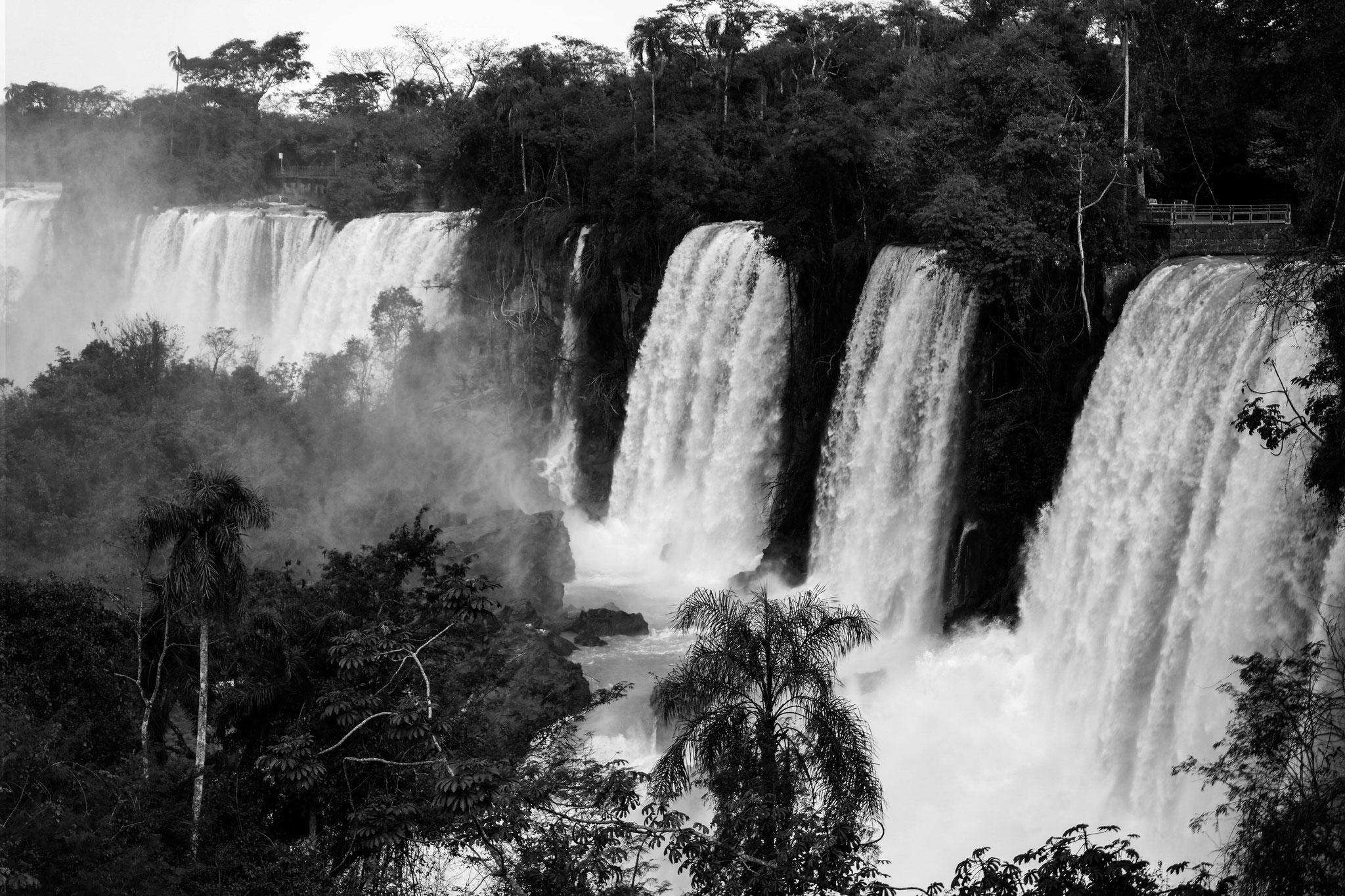 Smaller waterfalls in Iguazú, Argentinian side.