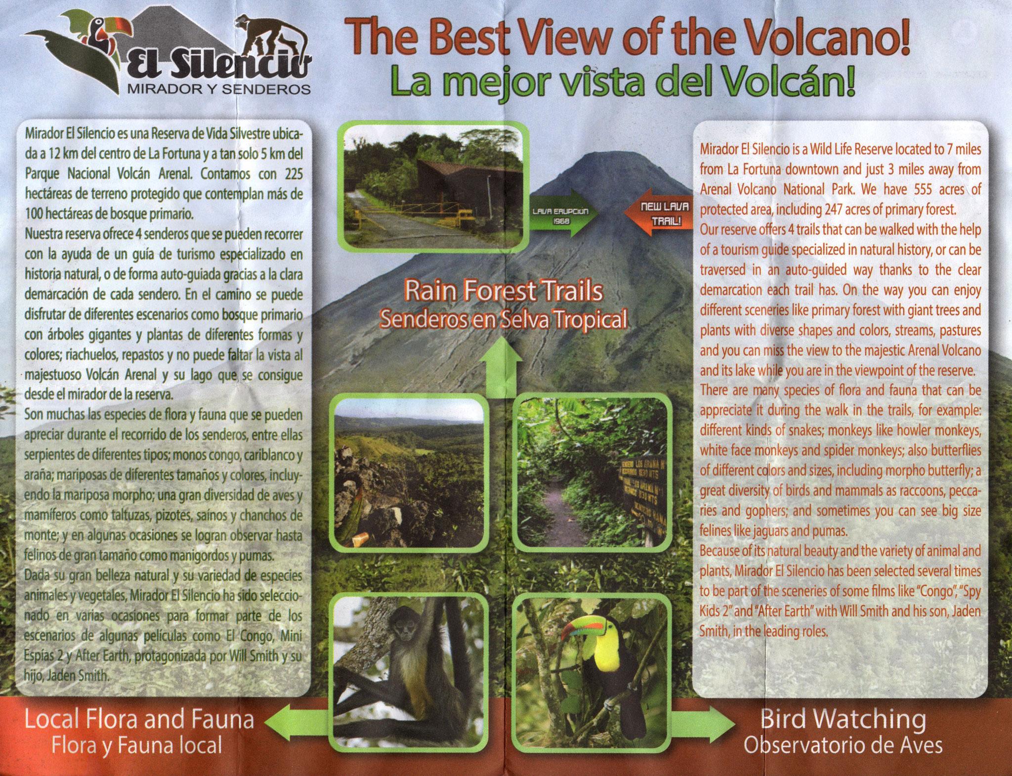 Vulcano Arenal - Trail