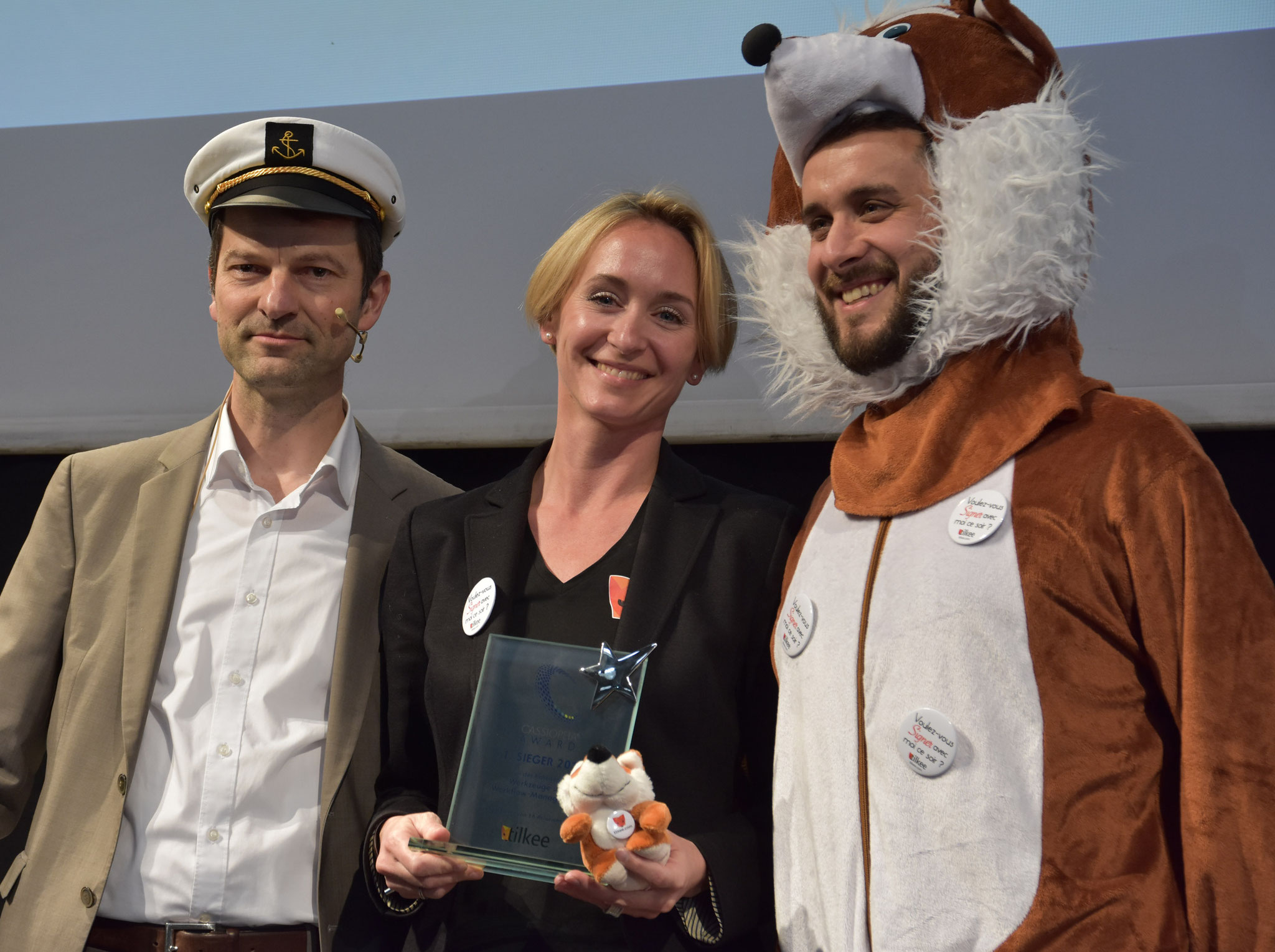 Ein verdienter 1. Platz für Tilkee in der Kategorie Werkzeuge und Workflow-Management