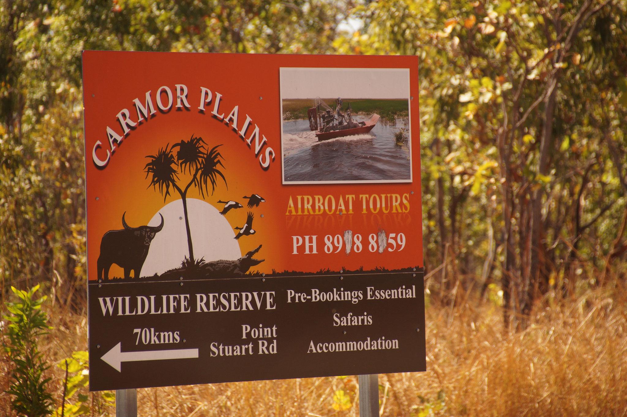 Bootsfahrten sind der beste Weg, um die Tierwelt des Kakadu Nationalparks zu erkunden.