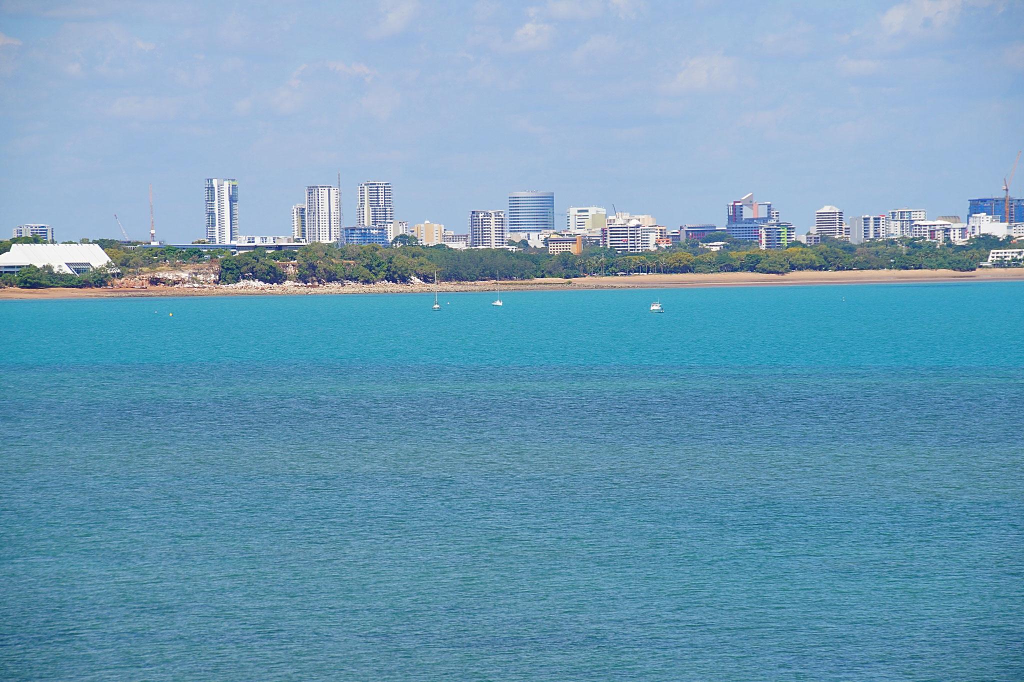 Darwins Meer, es ladet zum Bade.