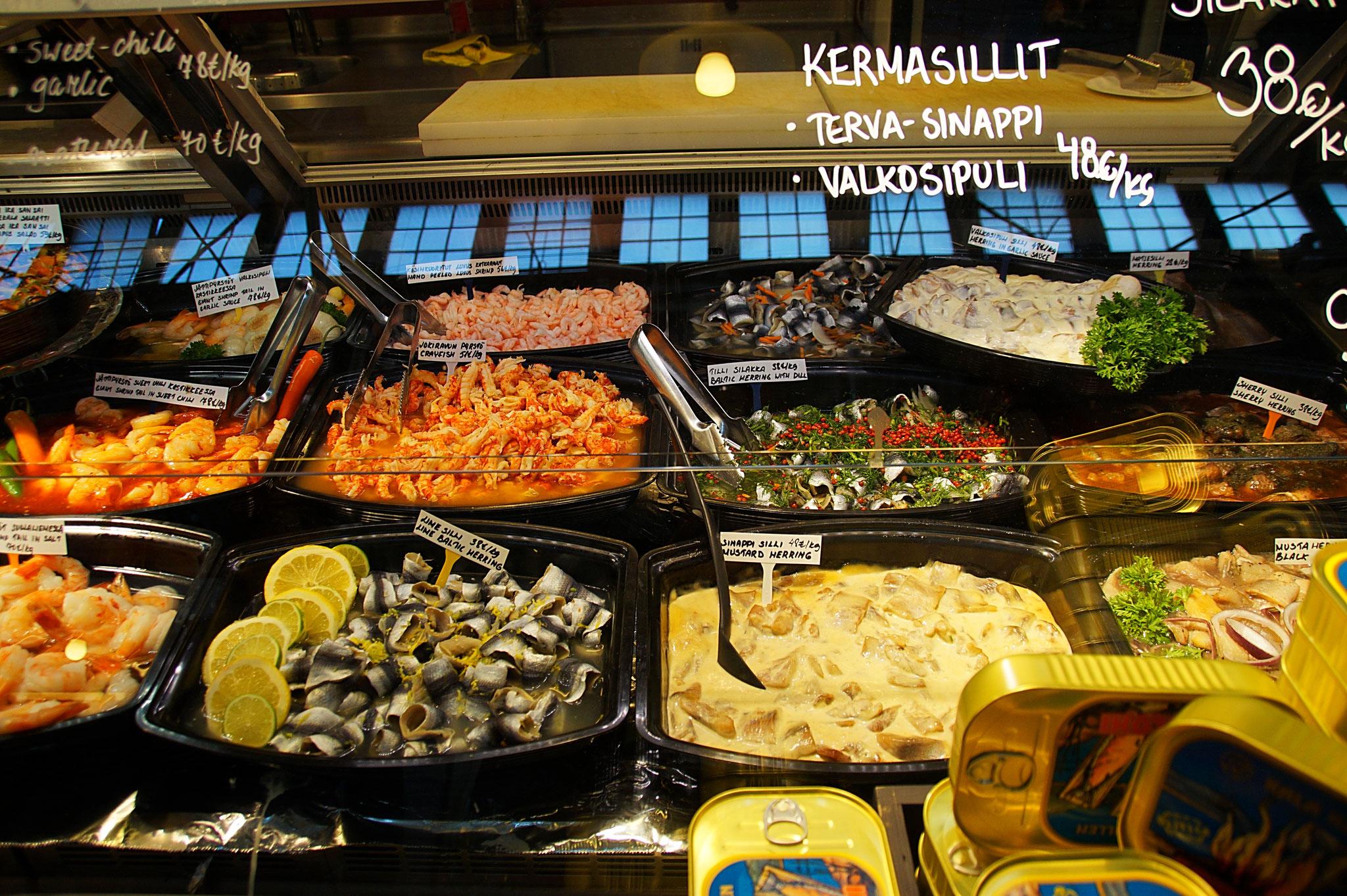 Der Central Market von Adelaide war für uns die TOP-Sehenswürdigkeit. Leider haben wir kein Foto davon. Dafür aber von einem Marktstand in Helsinki. Sieht auch lecker aus, oder?