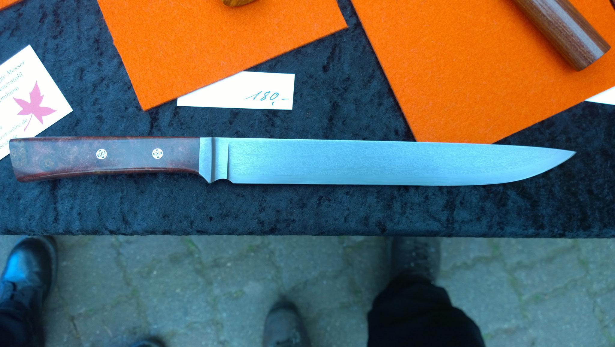 Ein wunderschön gearbeitetes Damast-Messer!