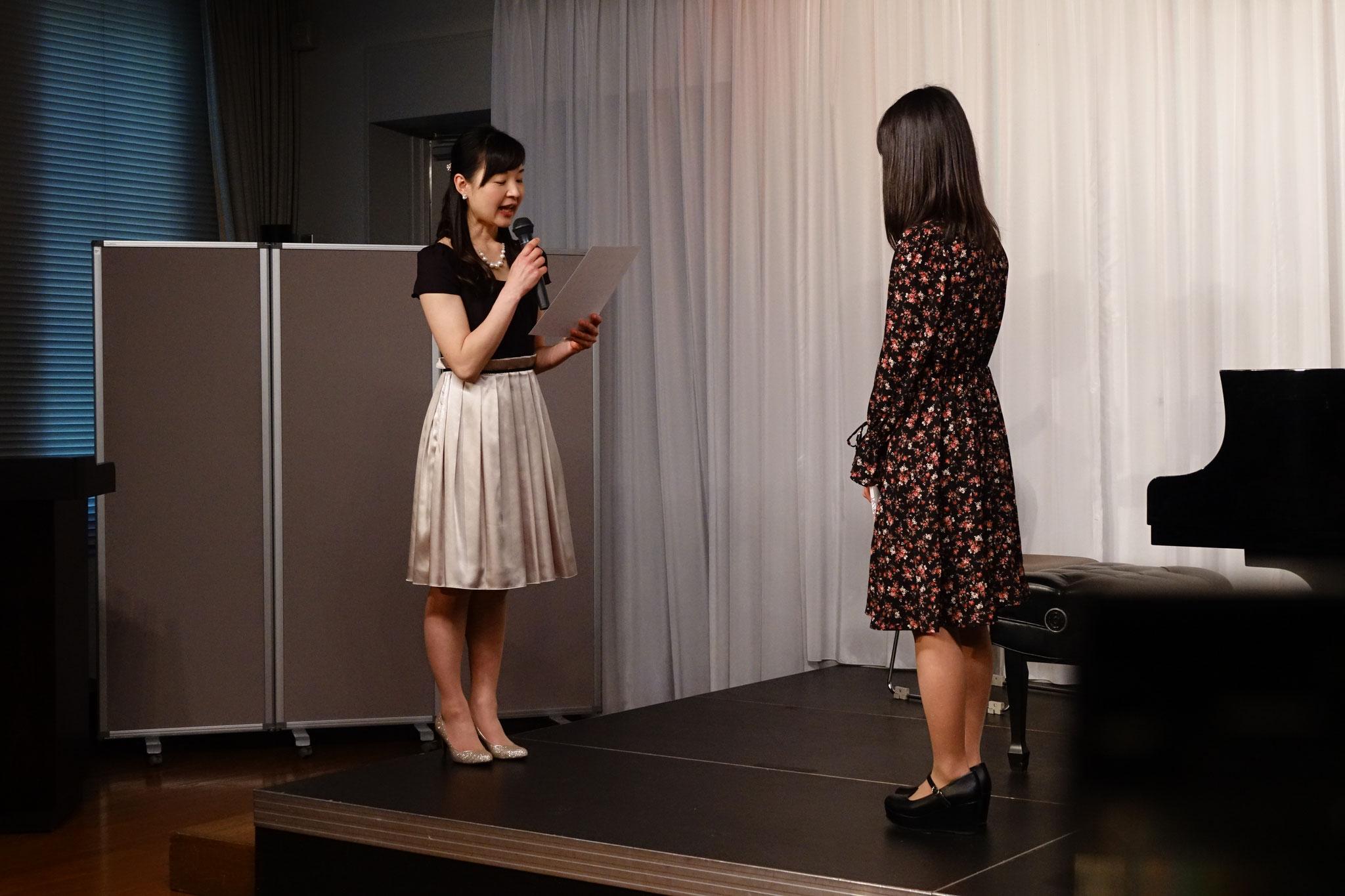 中学生のNちゃん、発表会に10回連続で出演しました!