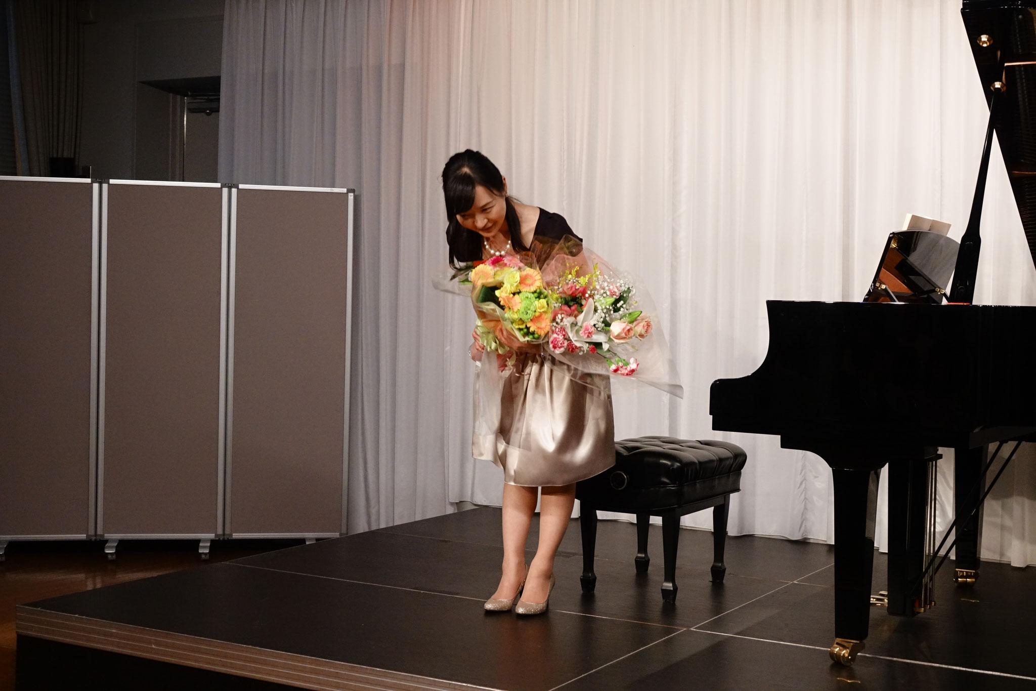 たくさんの花束、ありがとうございましたm(_ _)m