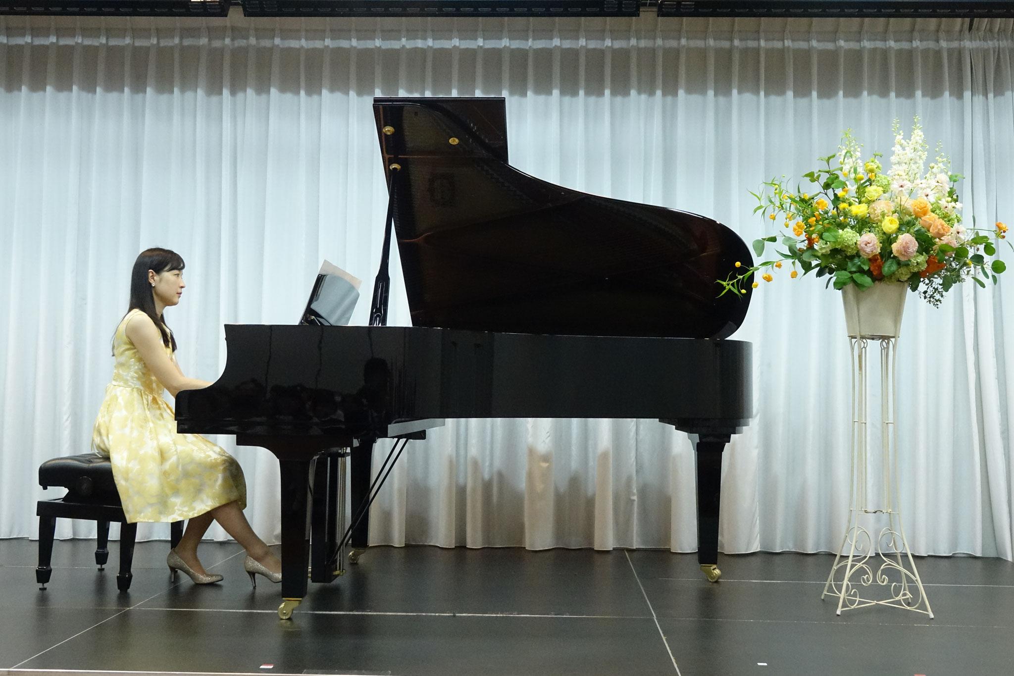 今年の講師演奏はショパンの『別れの曲』でした。
