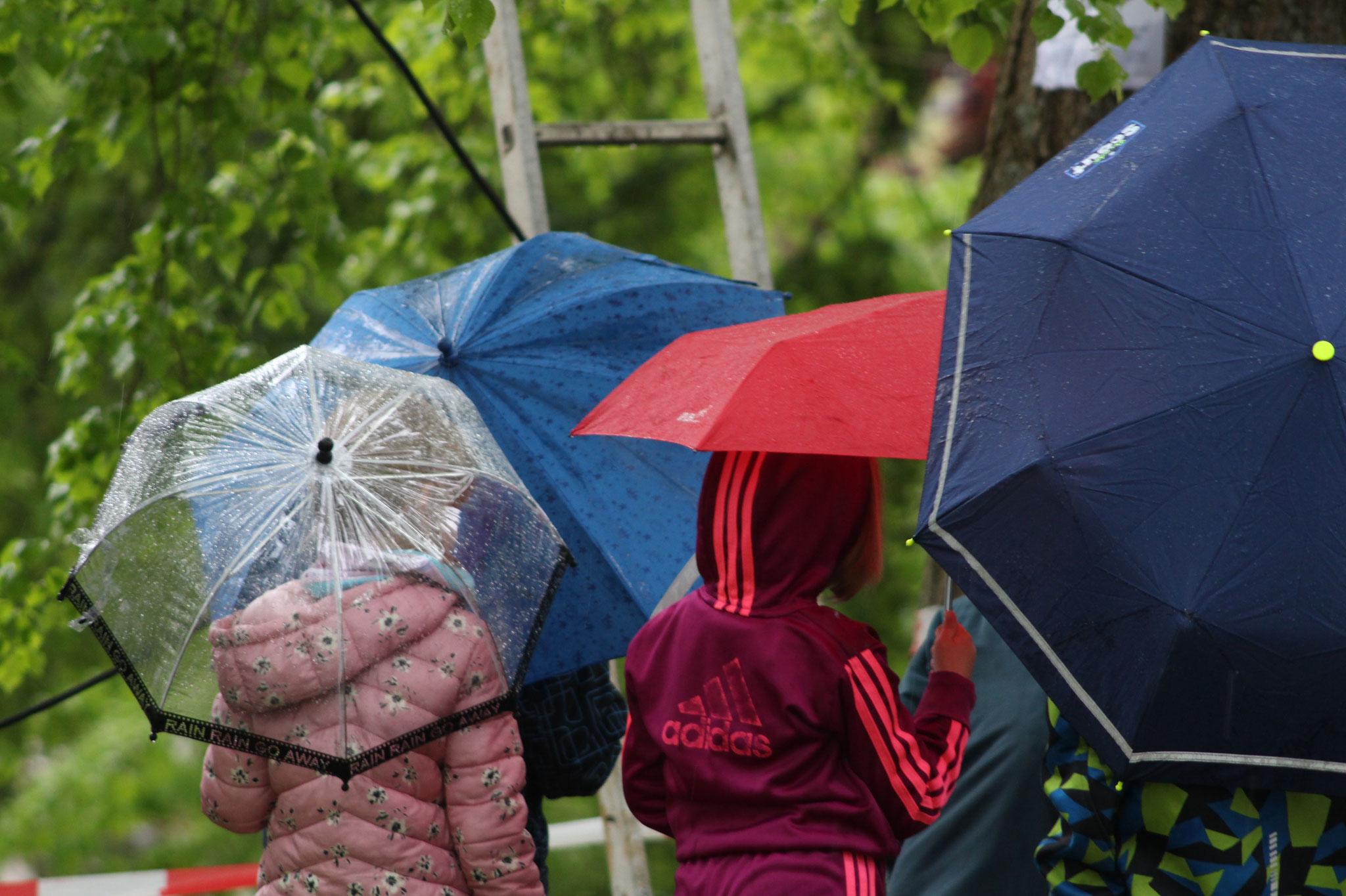 Klettern bei Regen
