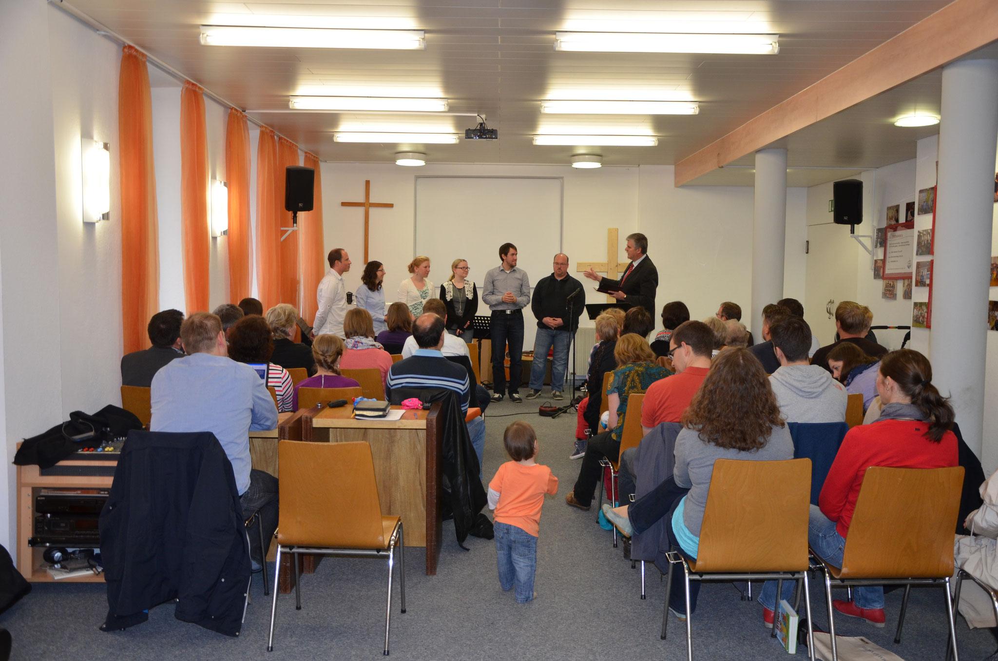 Gottesdienst in der Gemeinde