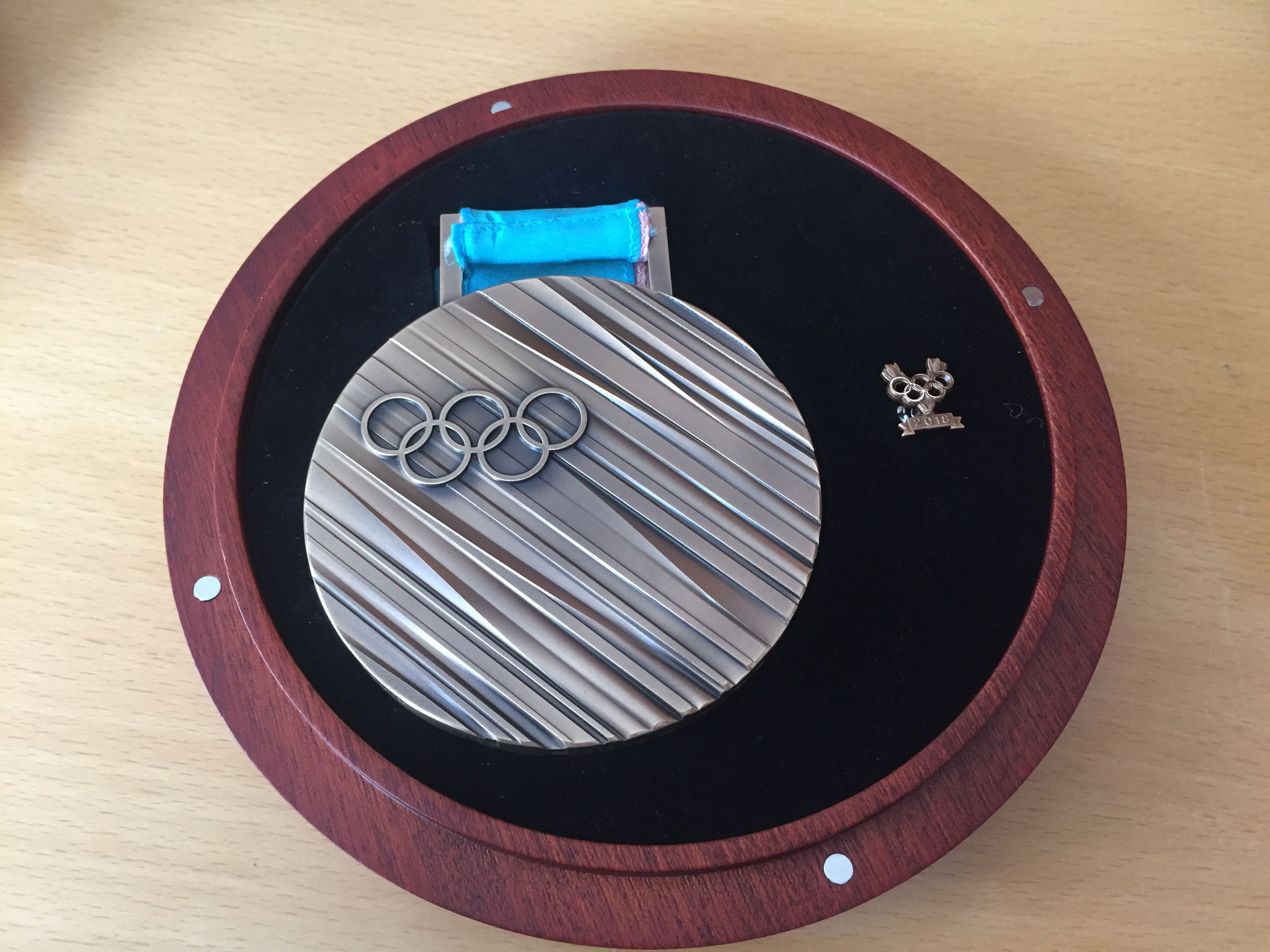 Bronze-Medaille Plympische Winterspiele Pyeongchang 2018