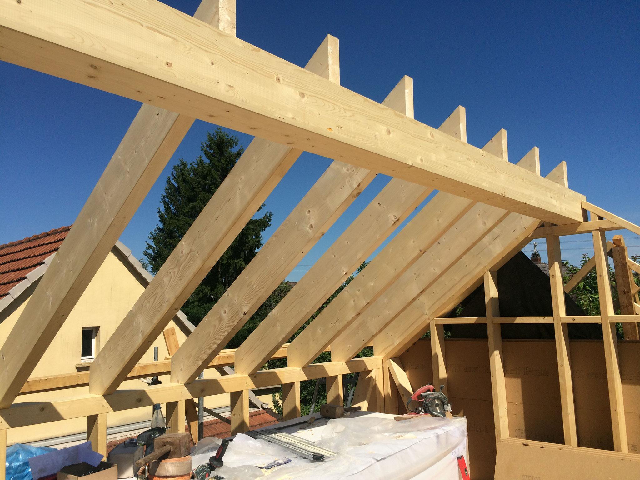Neues Dach für den Anbau