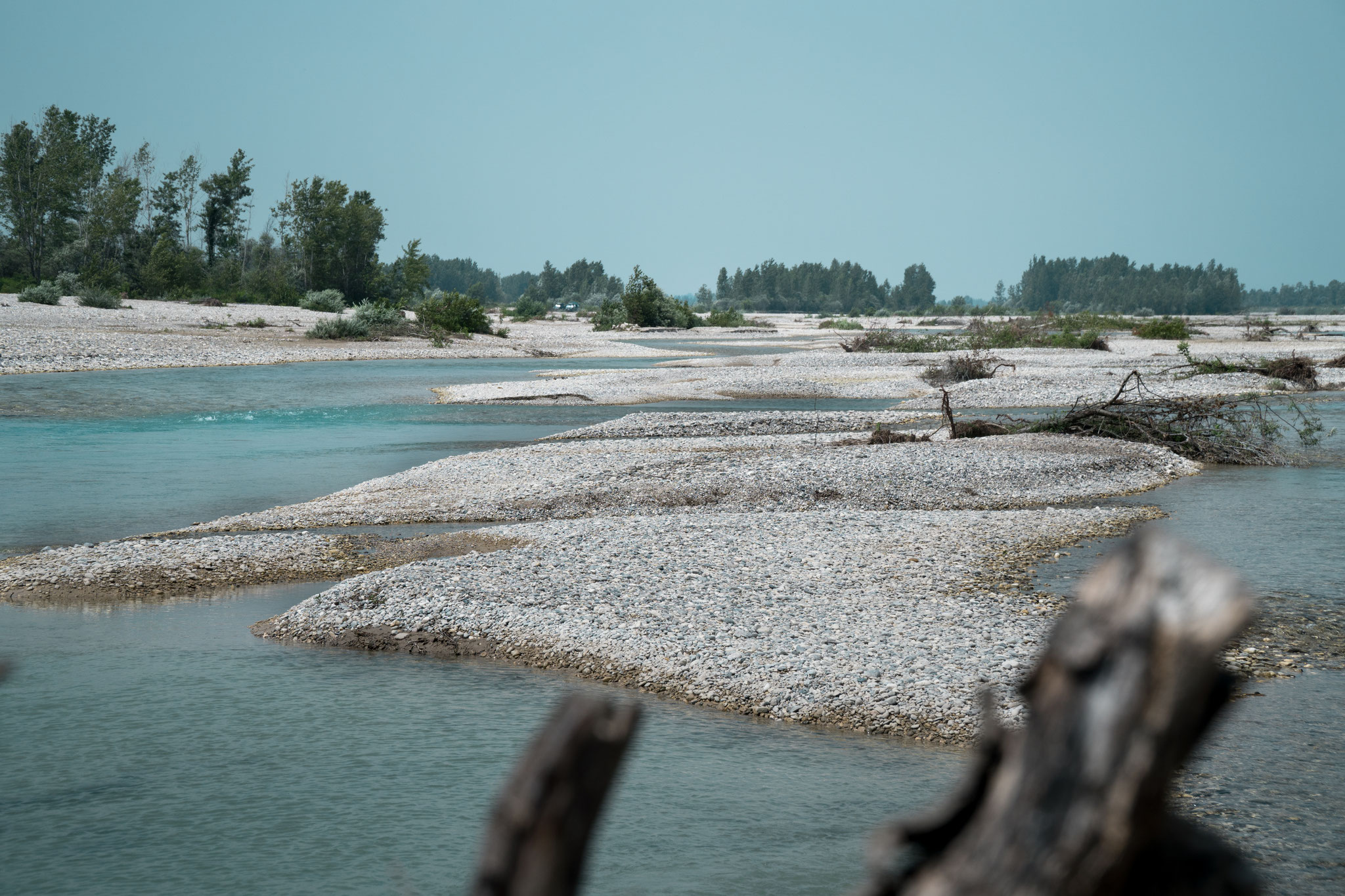 River Tagliamento in Italy - the last freeflowing river in Central Europe