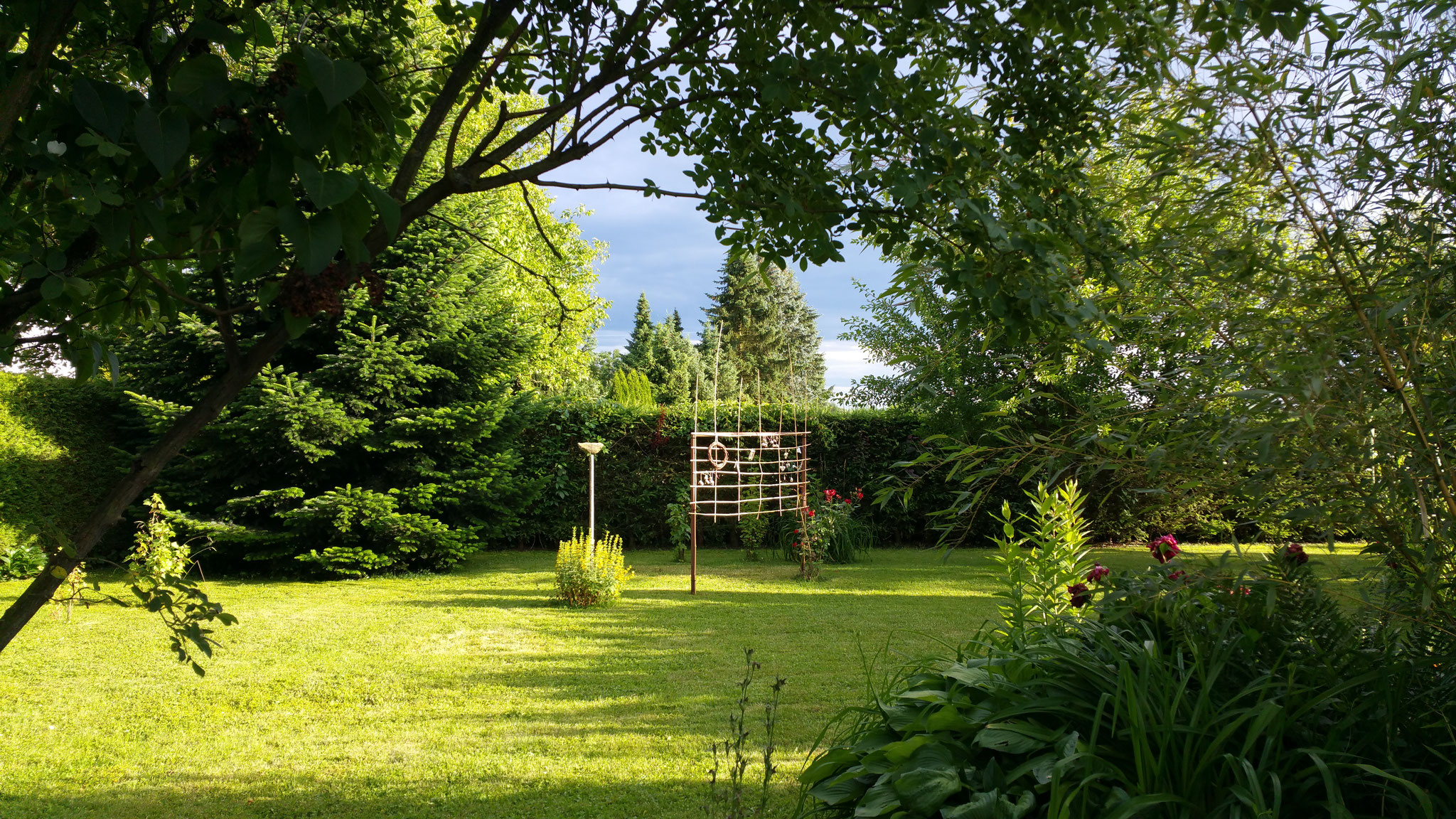 Ein kleiner Teil des Gartens