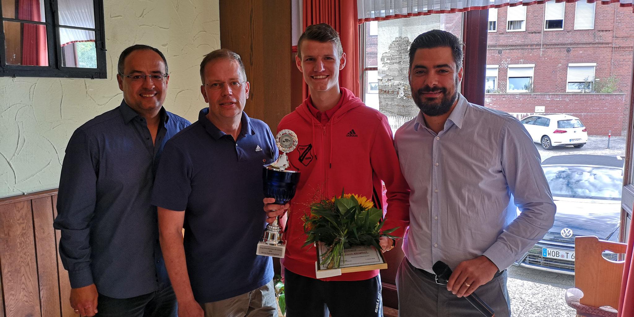 Jung-Schiedsrichter des Jahres 2018: Bjarne Klingfurt
