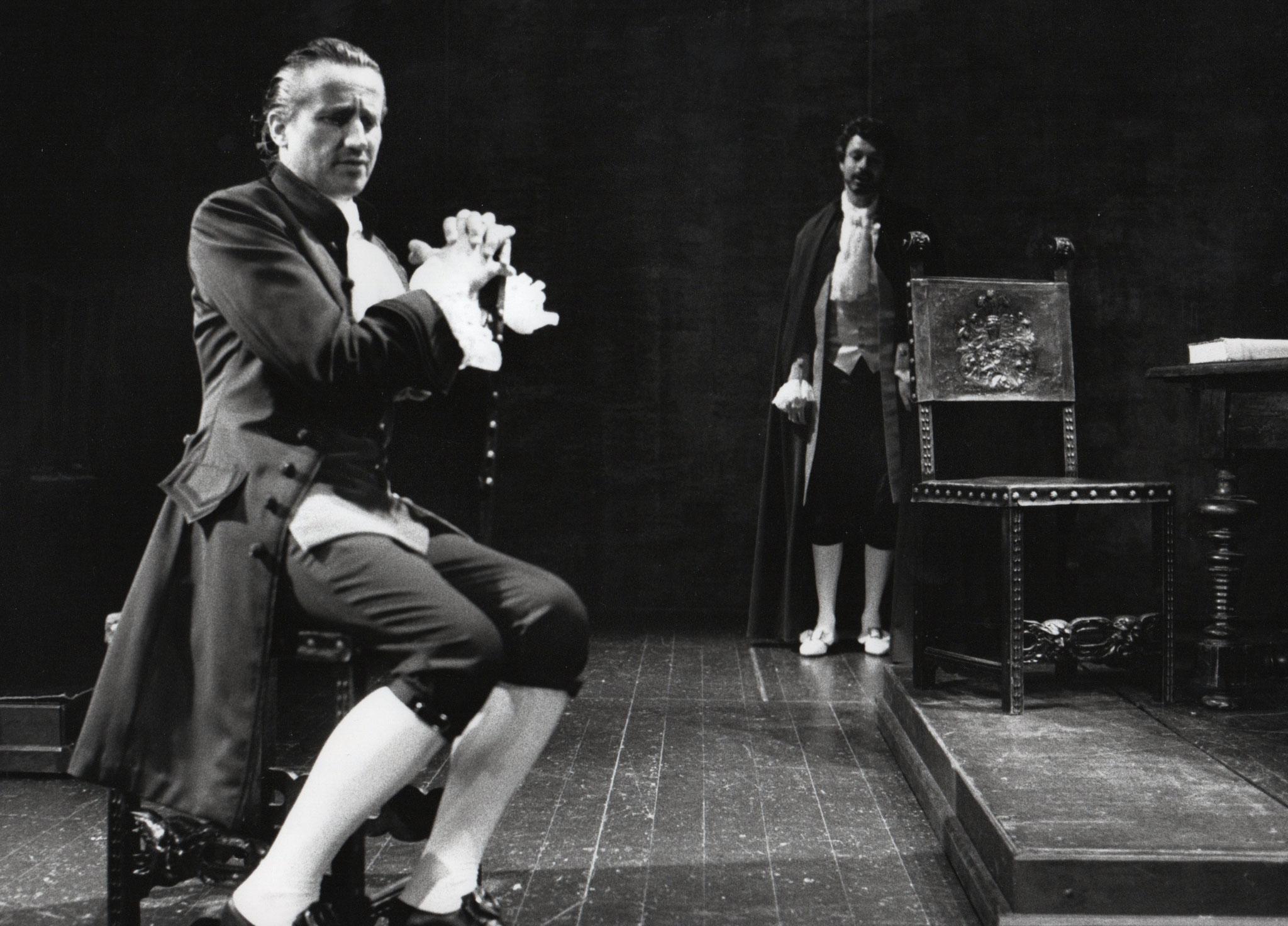 Beat Albrecht als Carlos in CLAVIGO von Goethe