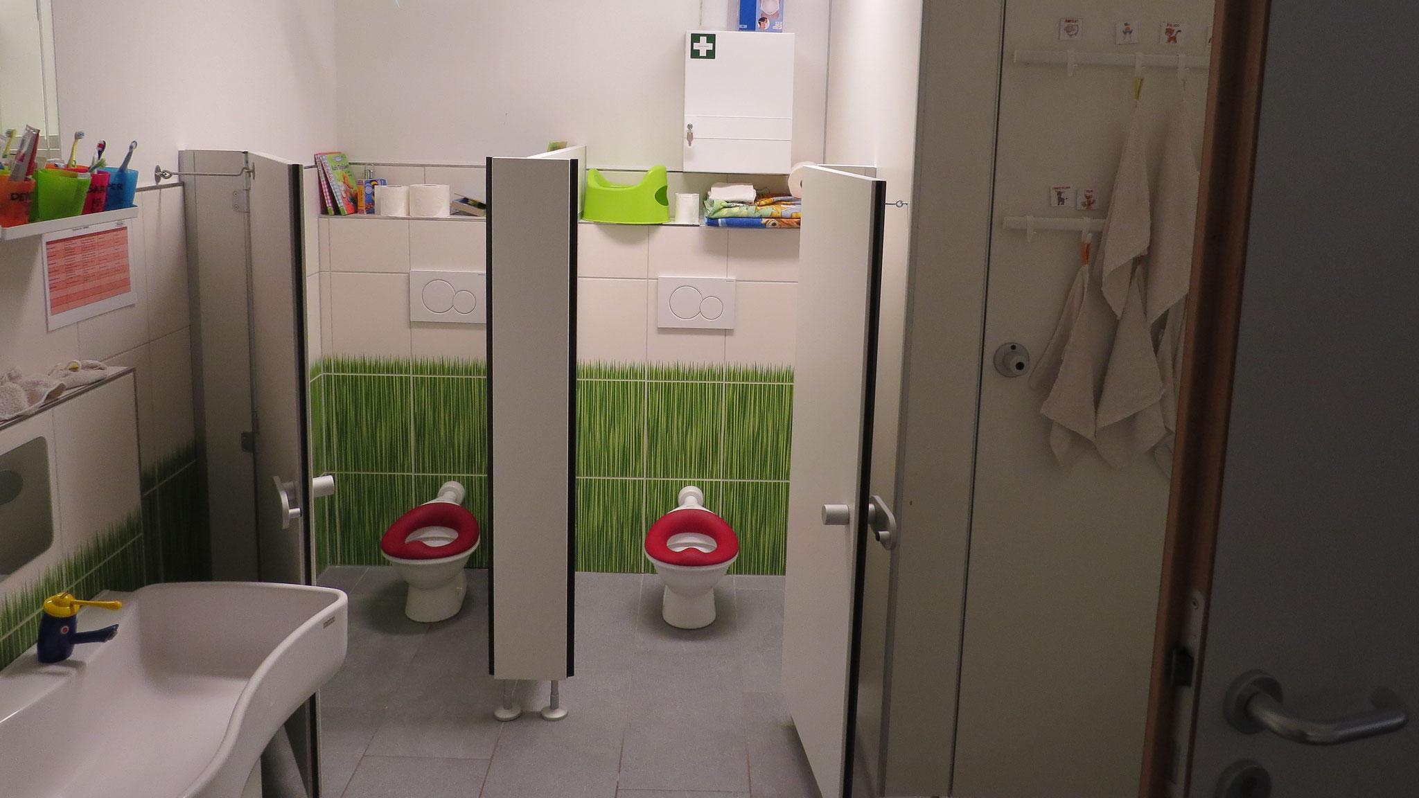 Kinder-WCs im Kinderbad