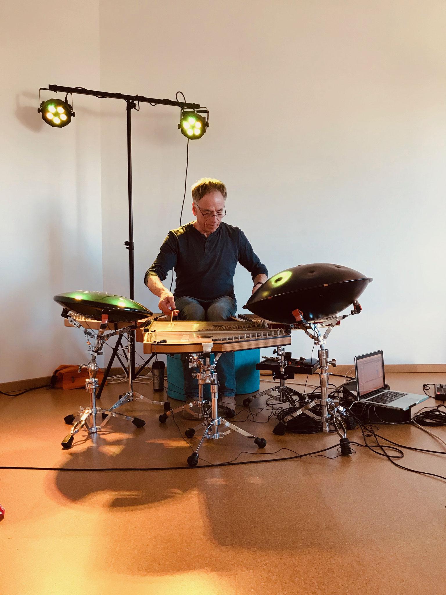 Carlos Michael, Steffen Günter - Sound Diving und Yin Yoga bei Yamida - Yogaschule Lüdinghausen