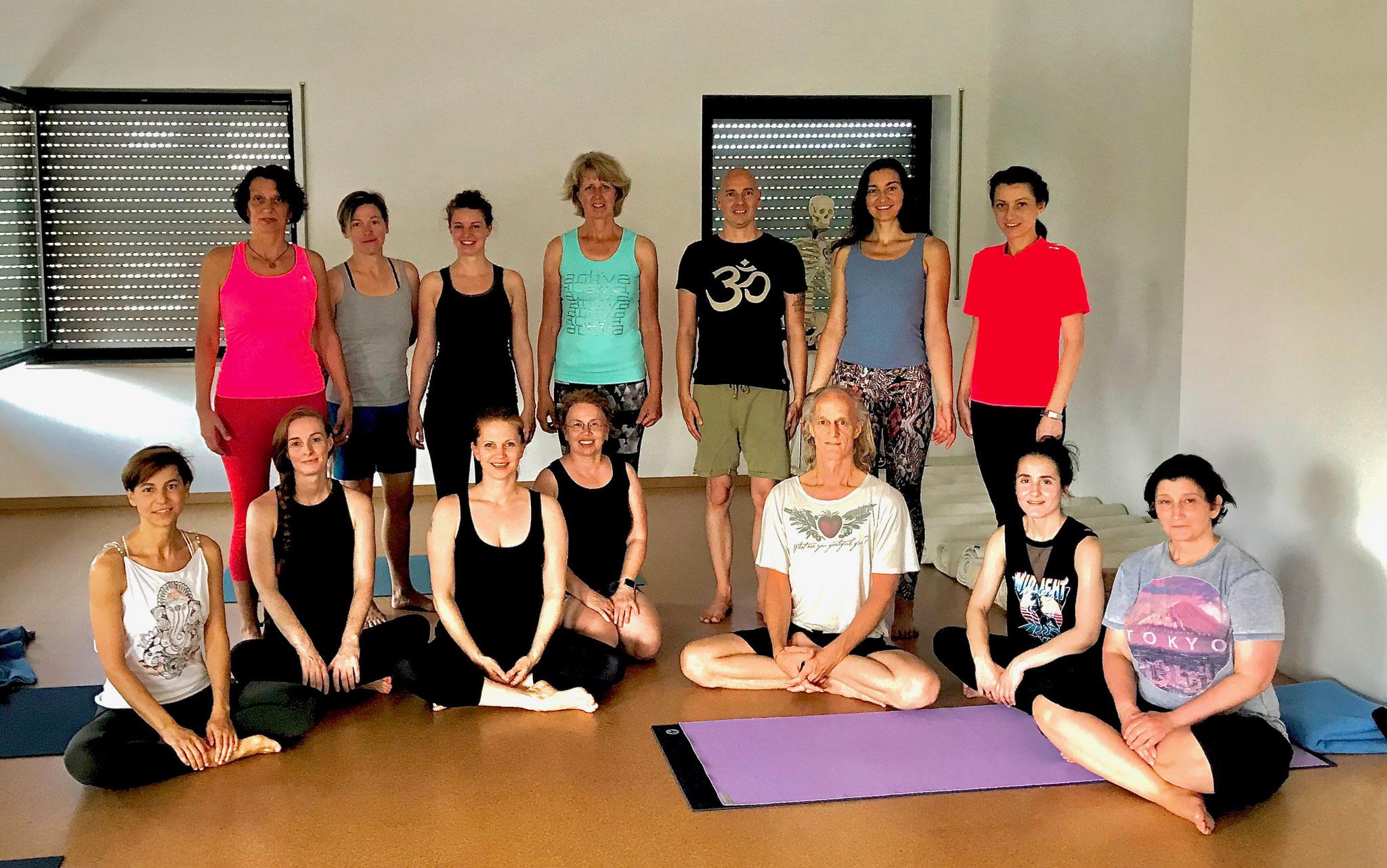 Ashtanga Yoga Workshop mit Chuck Miller bei Yamida - Yogaschule  Yoga Lüdinghausen, Datteln, Selm, Nordkirchen, Ascheberg, Cappenberg, Olfen, Senden