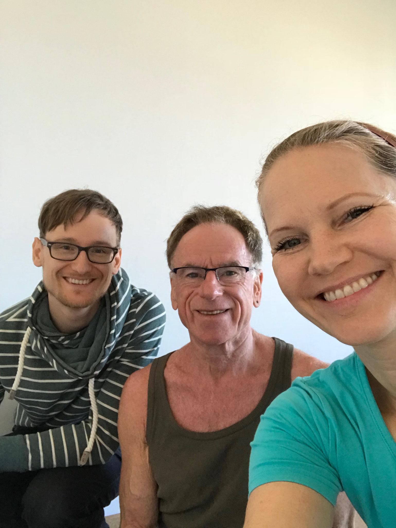 Vor dem Yoga ist nach dem Yoga - Yoga mit Klang - Carlos Michael, Steffen Günter - Sound Diving bei Yamida - Yogaschule Lüdinghausen