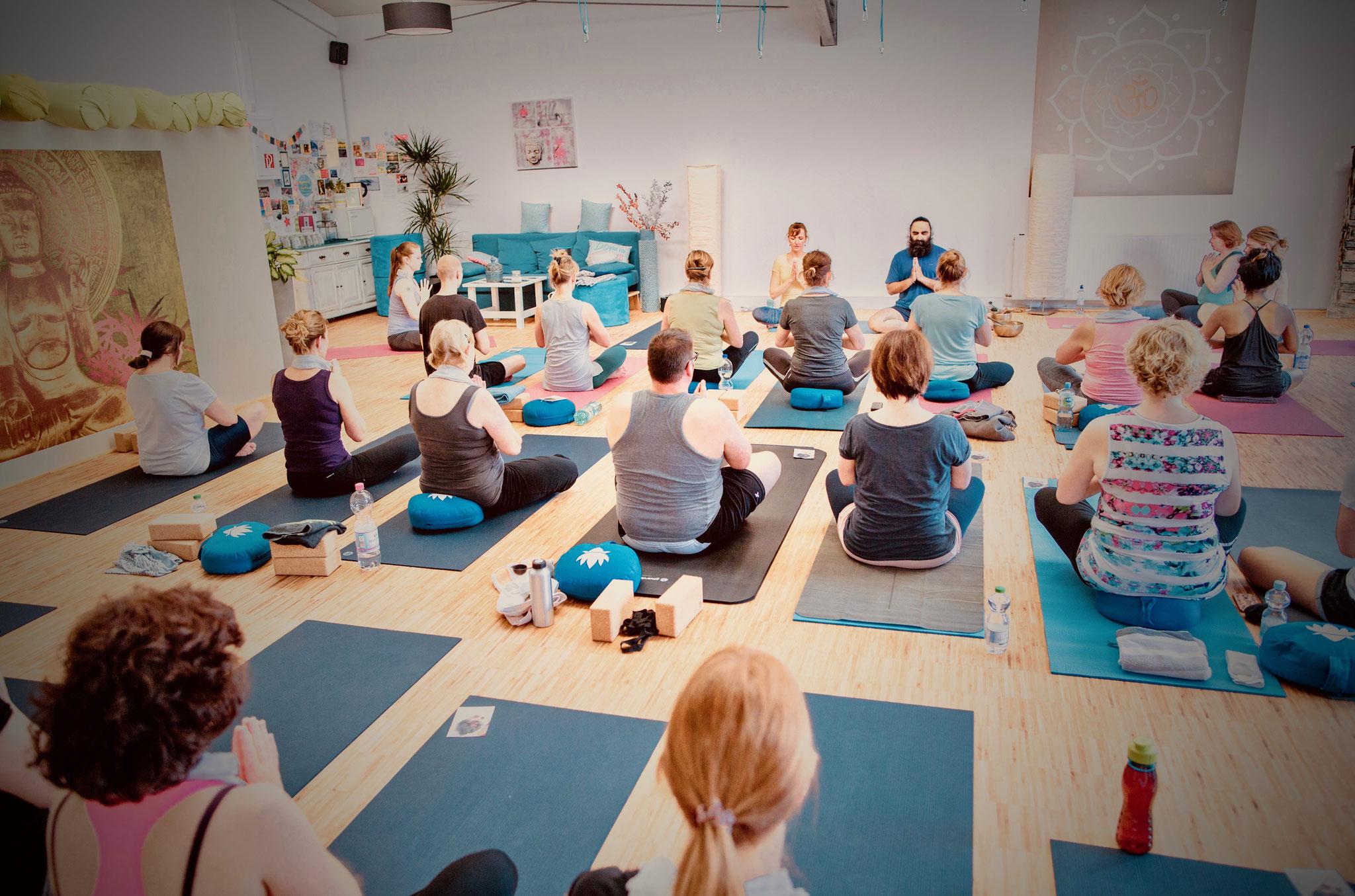 Yoga & Meditation bei Yamida - Yogaschule Lüdinghausen