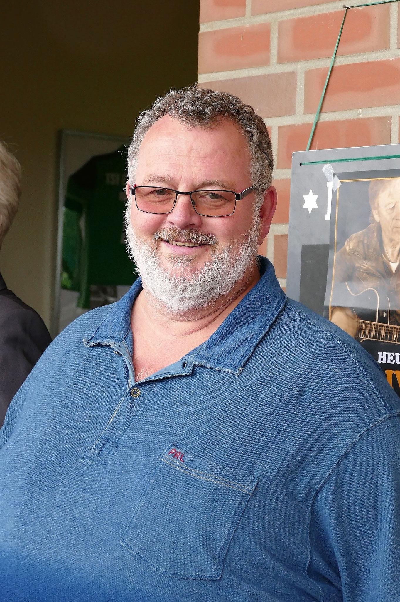 ... und Gastgeber Dirk Ringel, Firma Ringel Malermeister aus Rübke