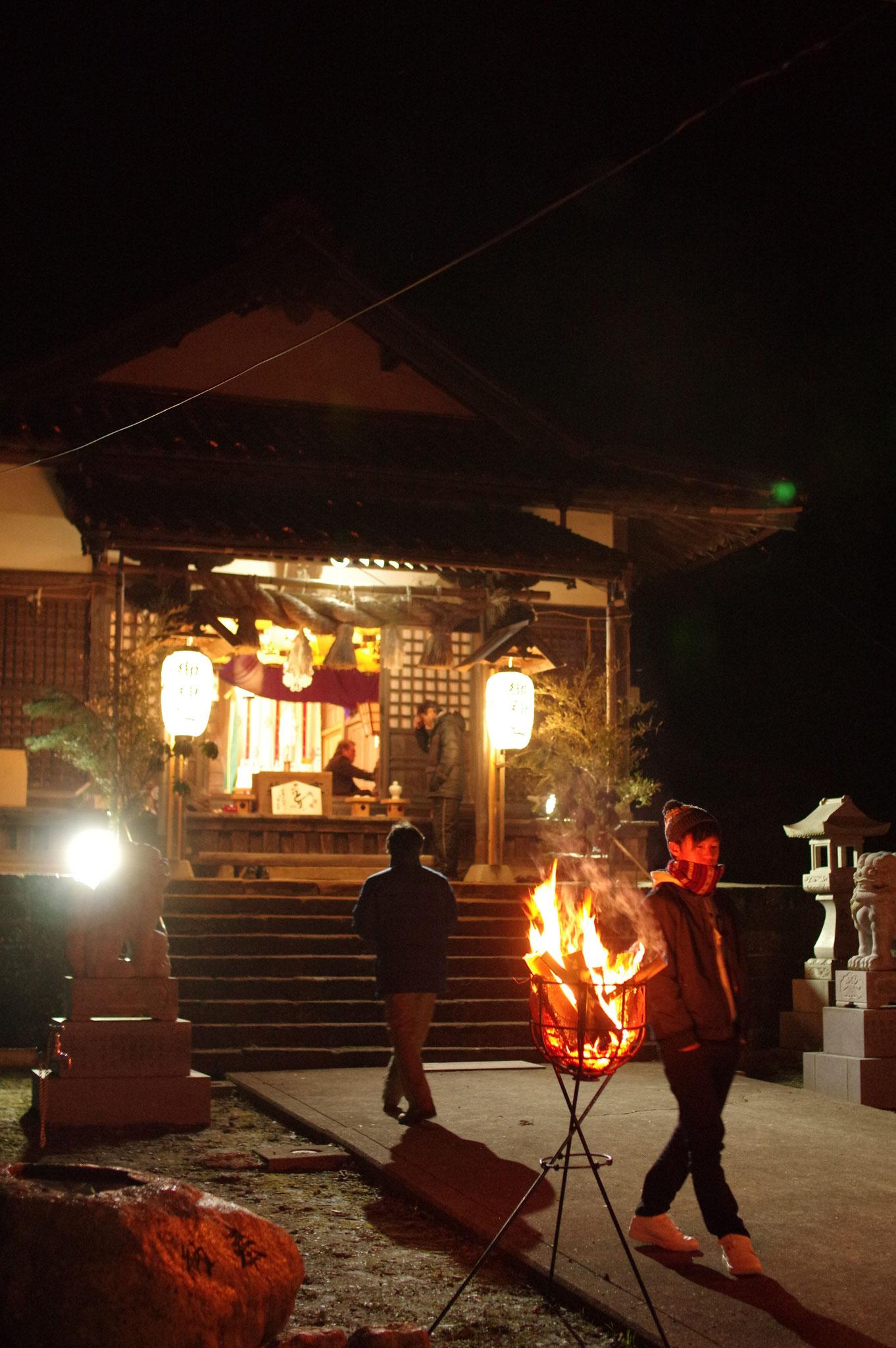 八幡さんは勝負の神様 受験生もお詣りに…