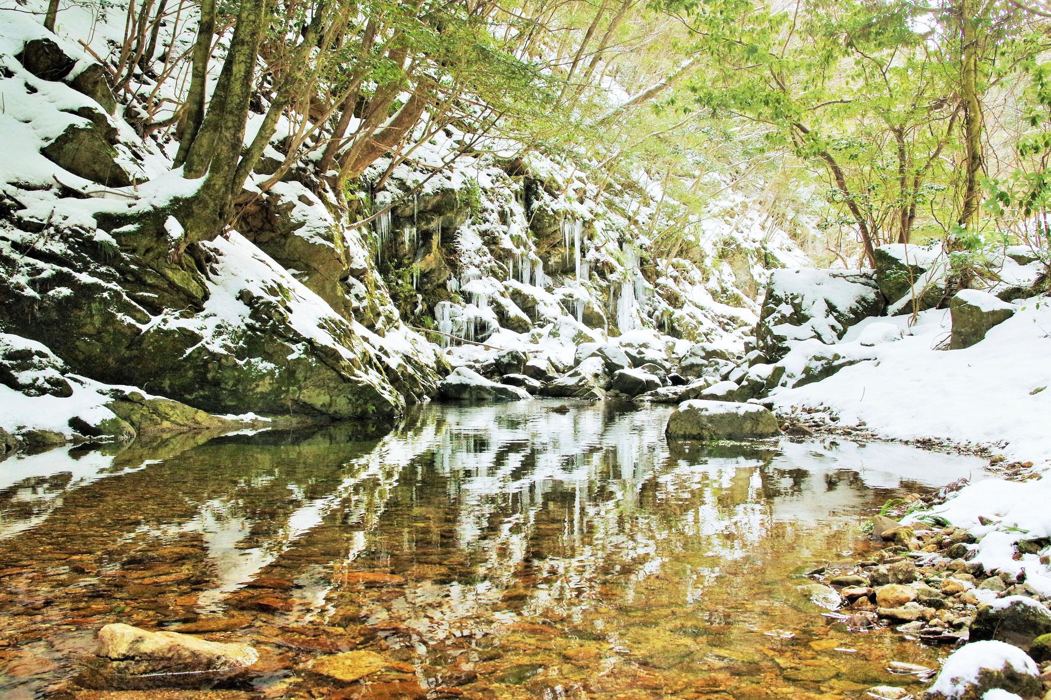 にば谷の冬