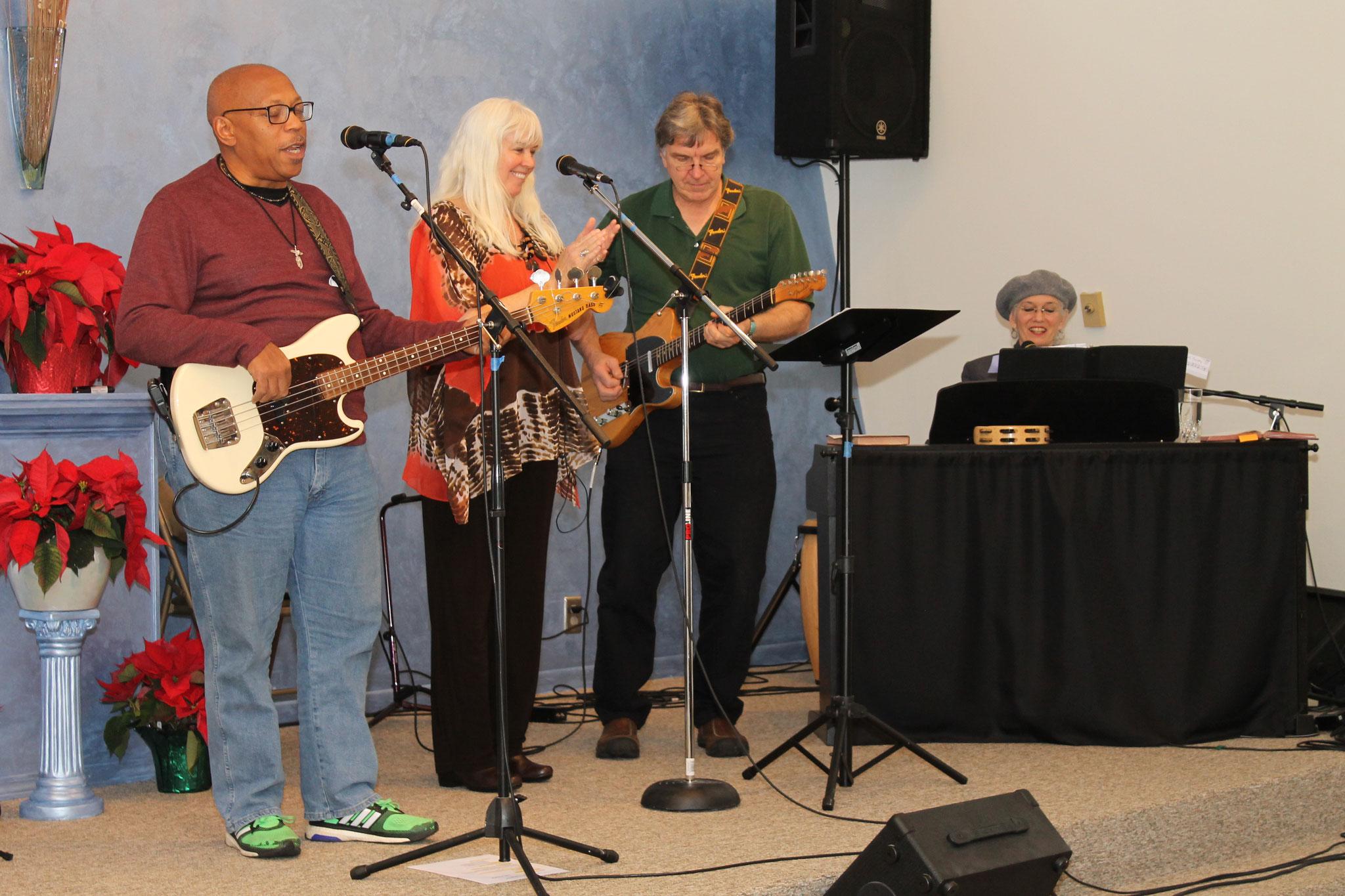 Eddie Watkins, Jr., Joanne Blum, Joe Lambert, and Lynda McClanahan