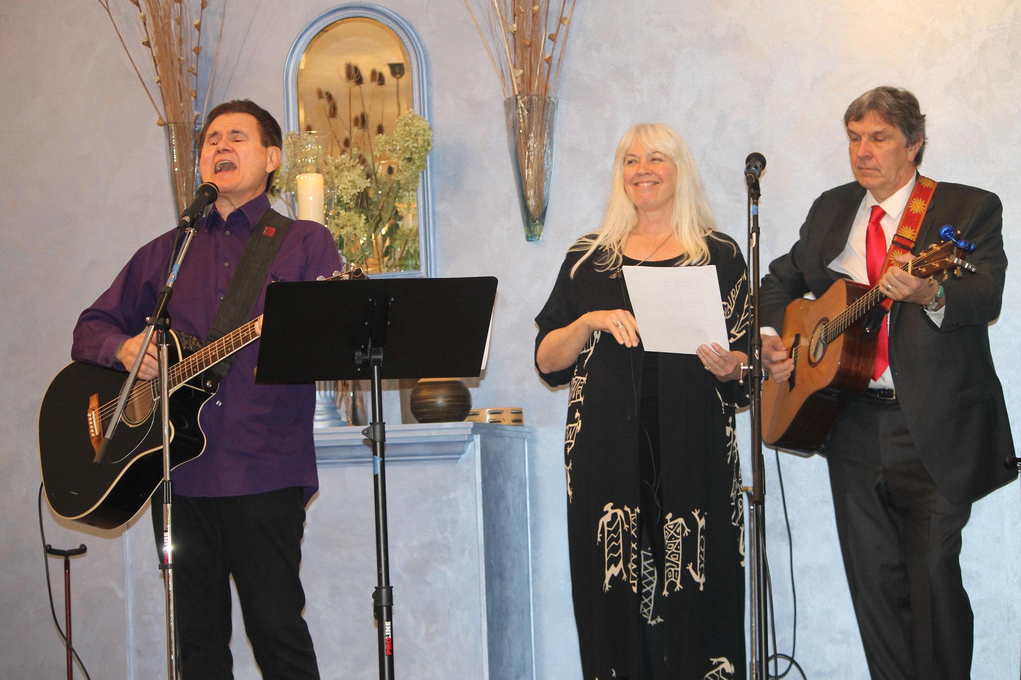 Harold Payne, Joanne Blum and Joe Lambert