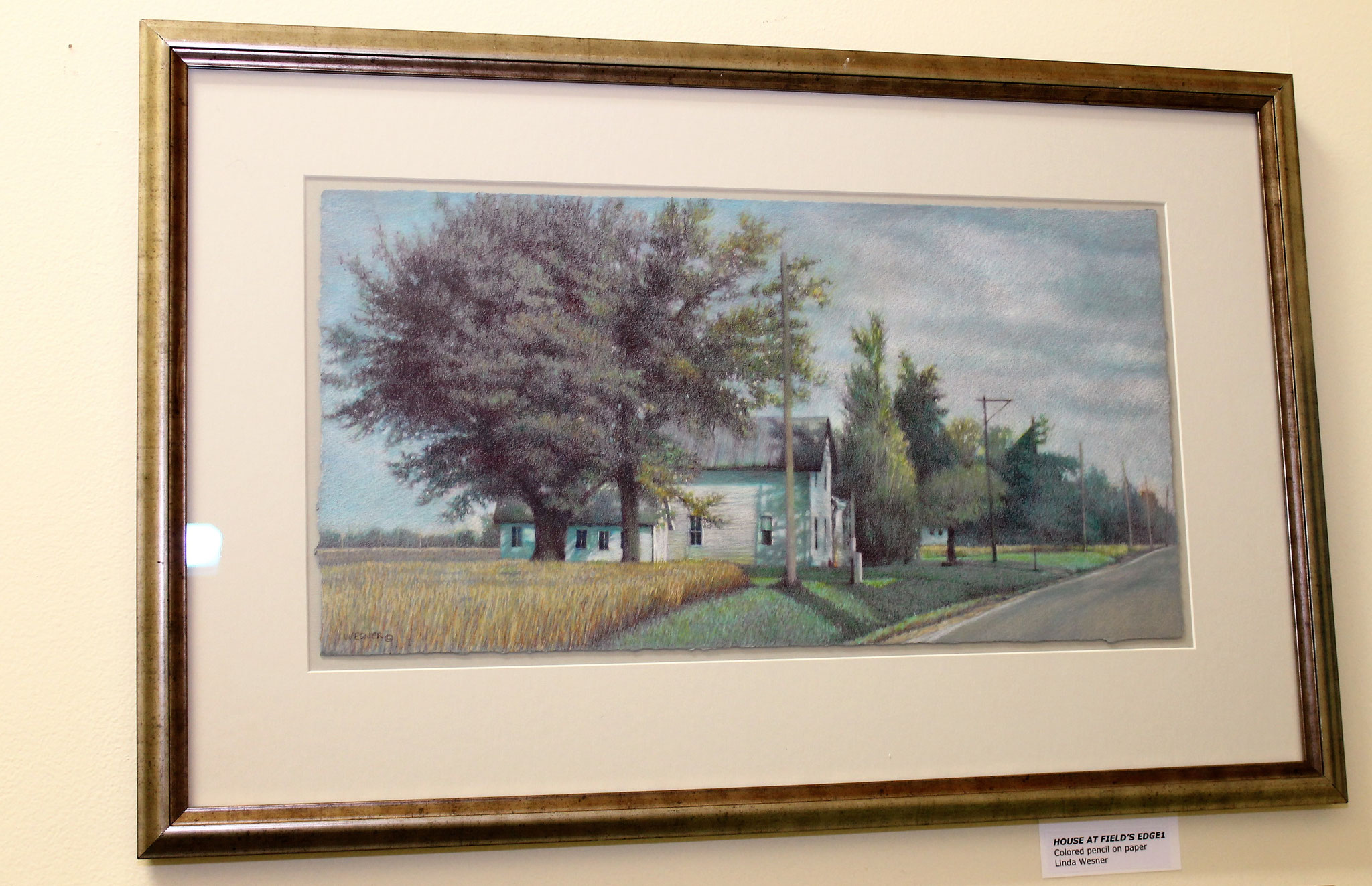 "Linda Wesner's ""House at Field's Edge"""