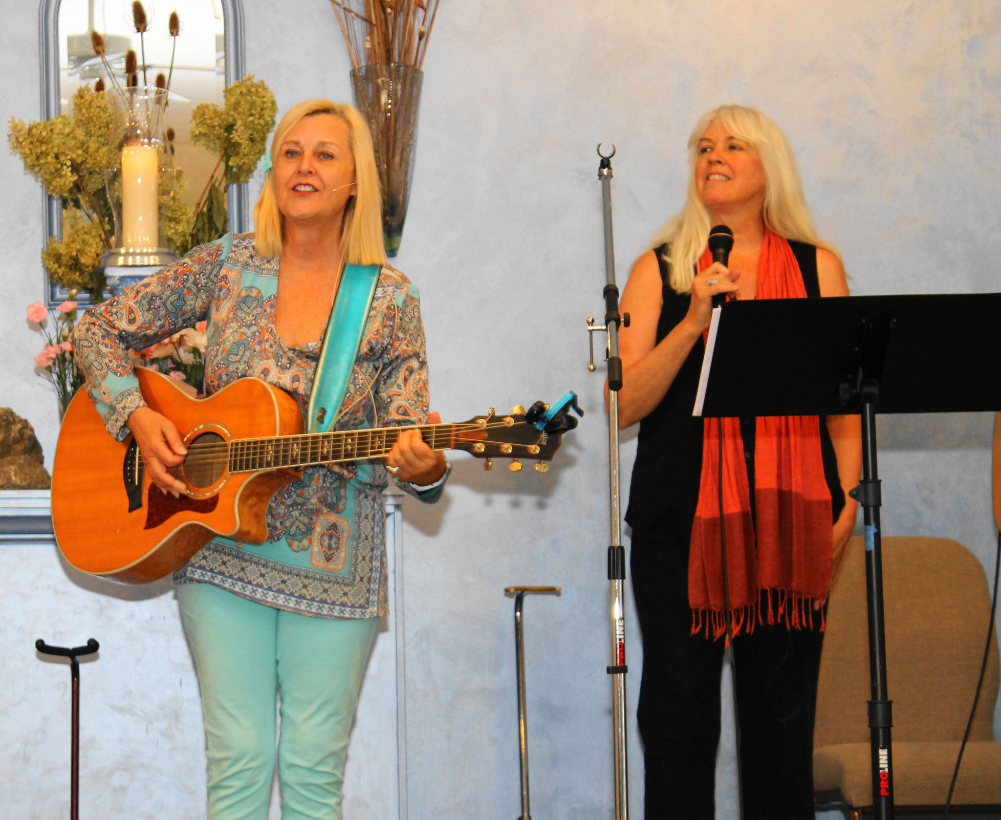 Jana Stanfield and Joanne Blum
