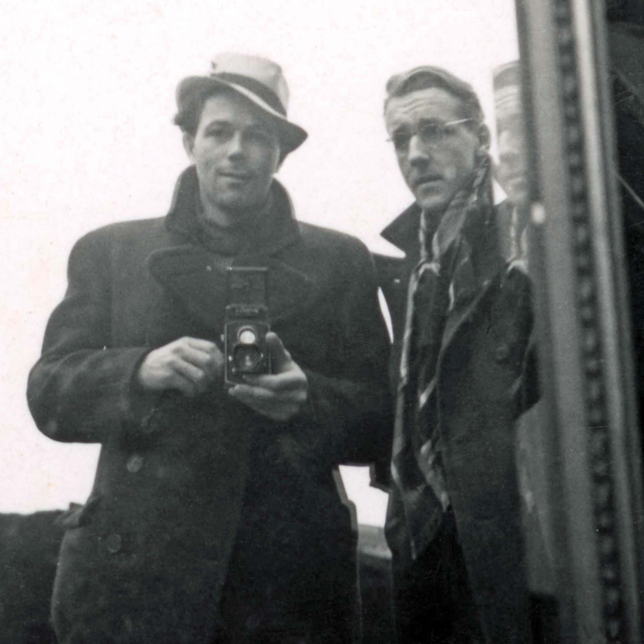 Hans Potthof und Christian Staub in Paris, Winter 1937/38