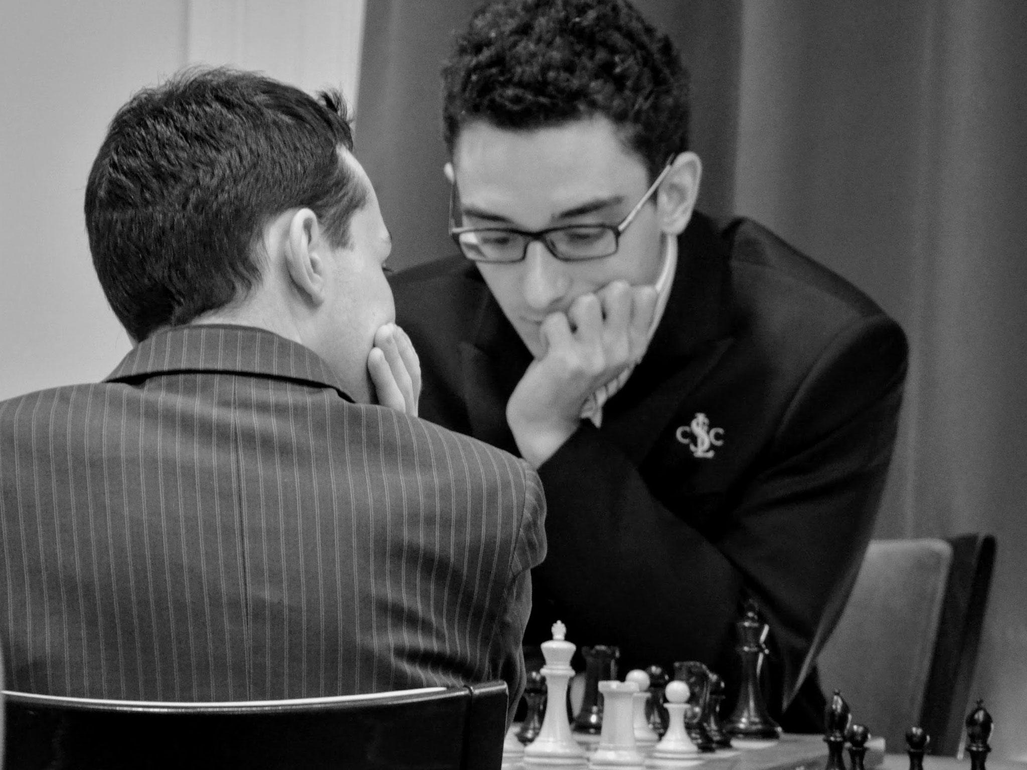 St. Louis - 2016 - Alexandr Lenderman, Fabiano Caruana - U.S. Chess Championship