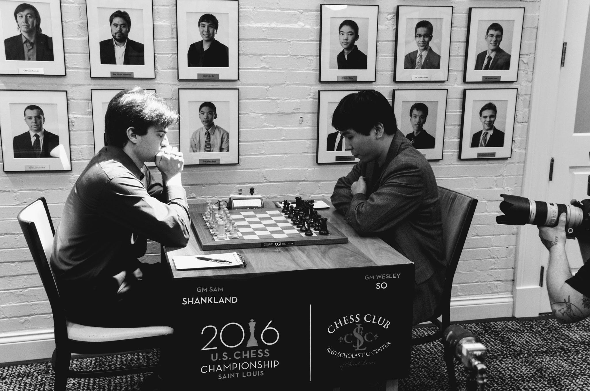 St. Louis - 2016 - Sam Shankland, Wesley So - U.S. Chess Championship