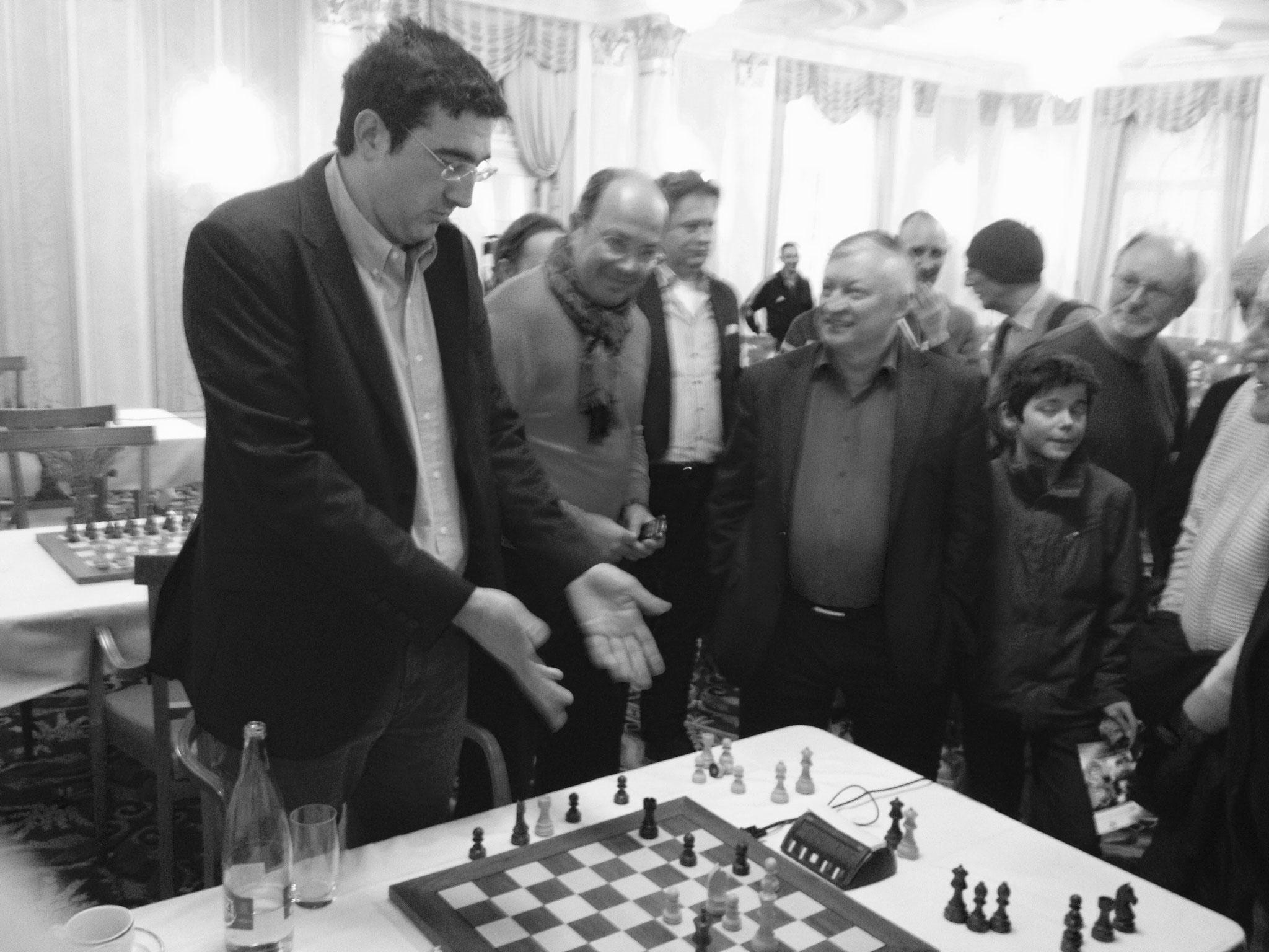 Zürich - 2016 - Vladimir Kramnik und Anatoli Karpow - Zürich Chess Challenge