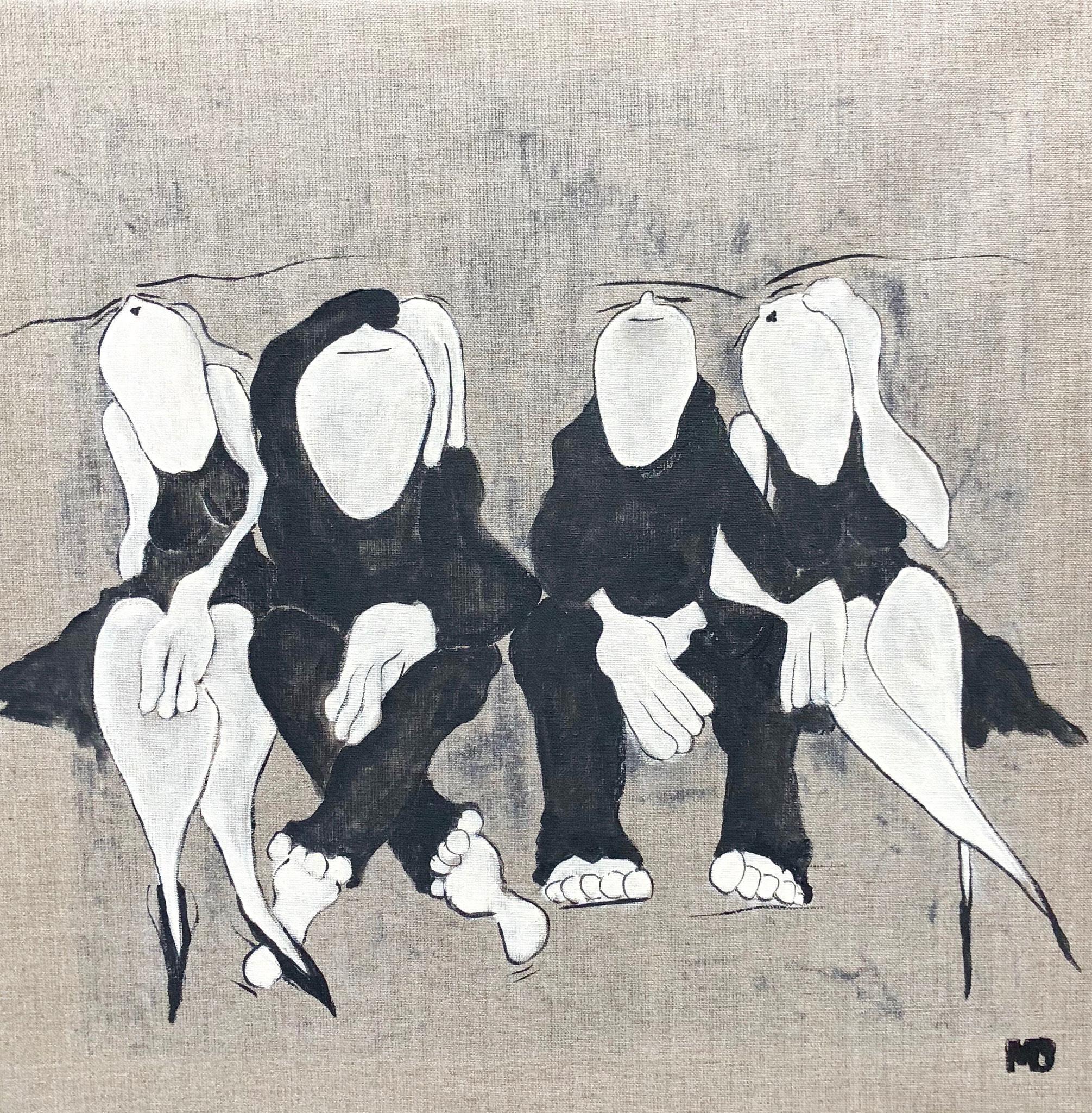 Family Affair - Acryl - 50x50