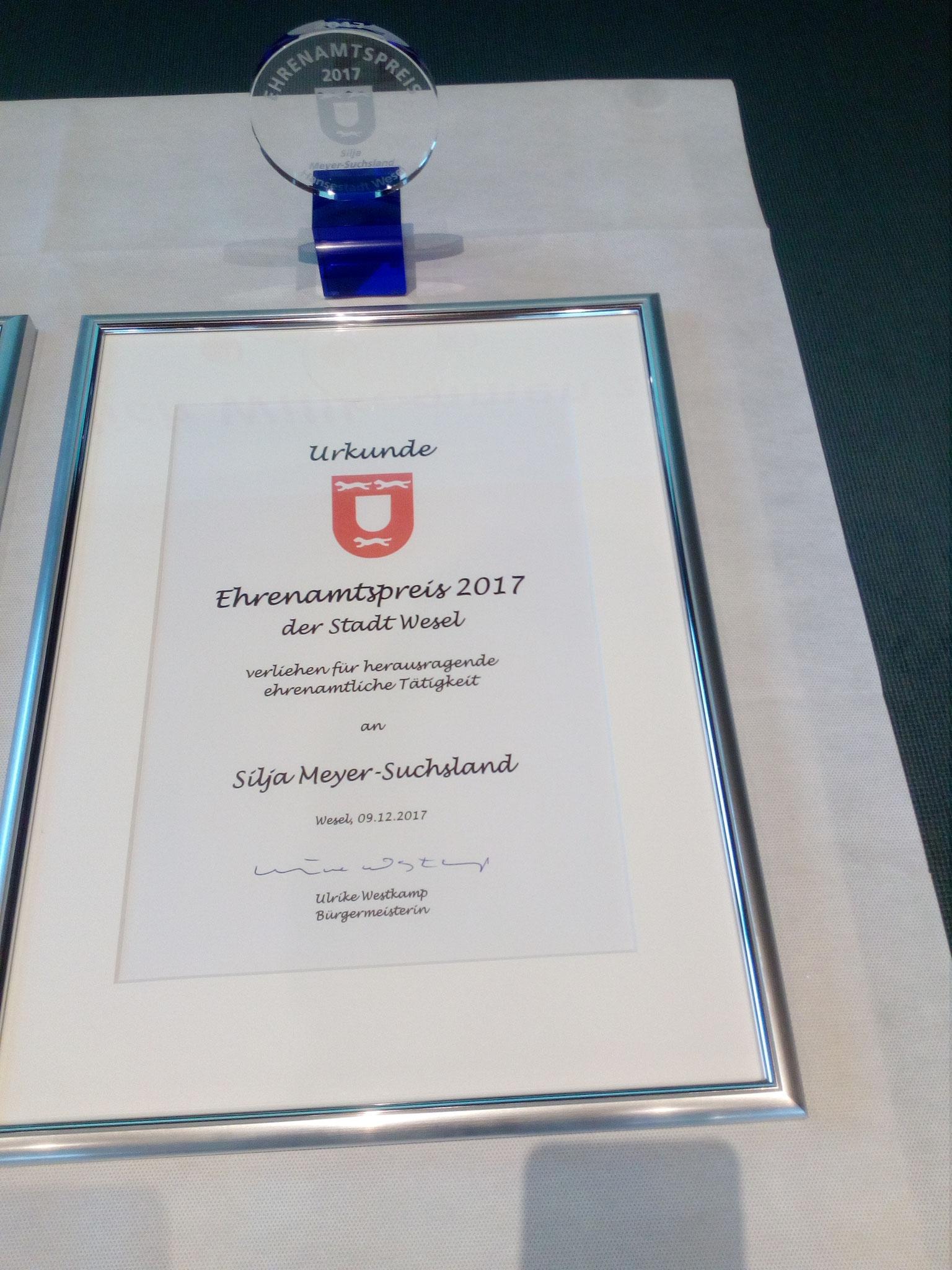 Ehrenamtspreis